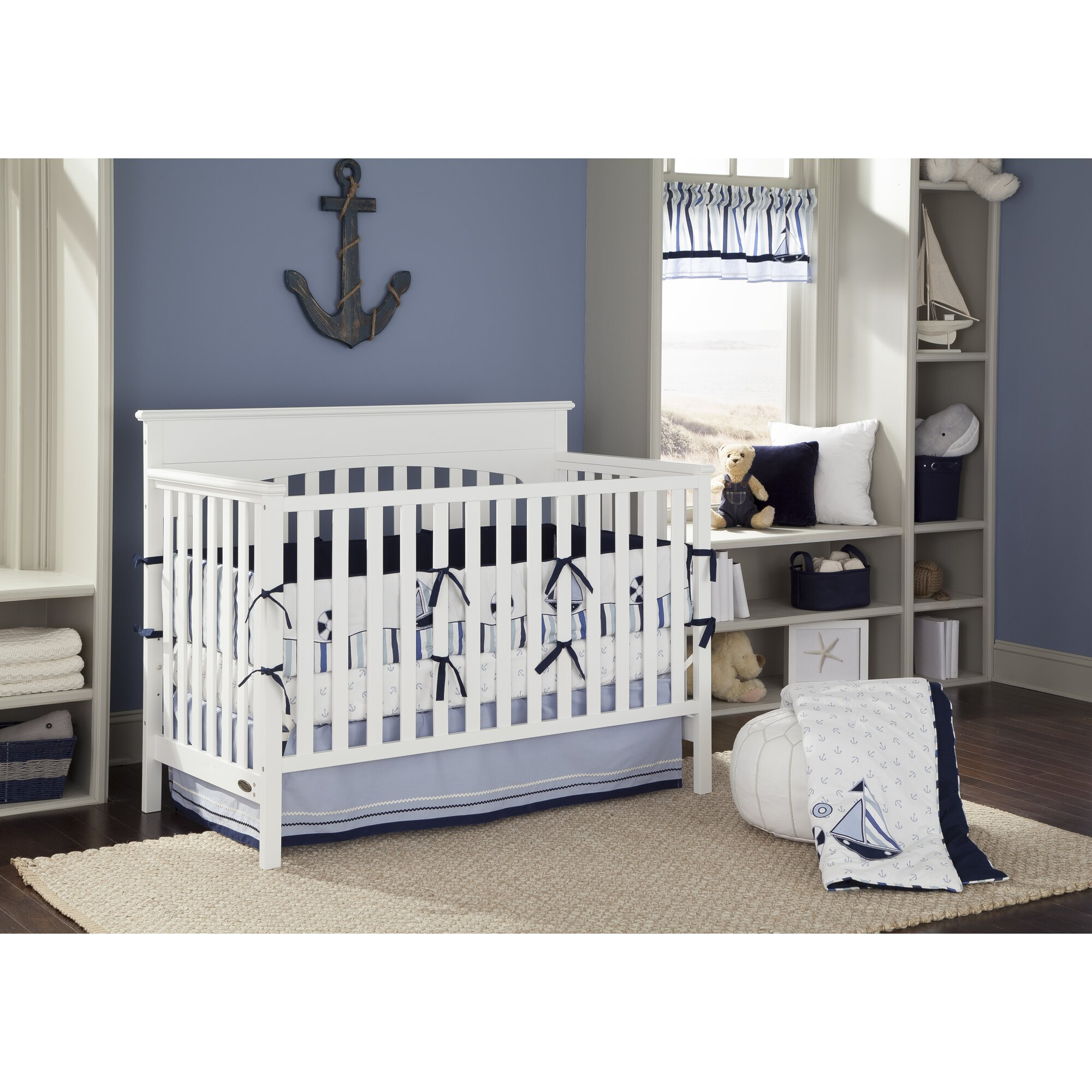 Graco Lauren 4 In 1 Convertible Crib Amp Reviews Wayfair