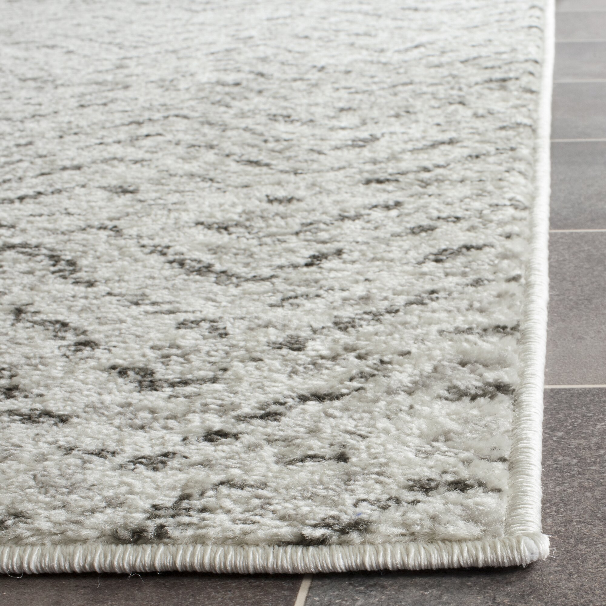 Varick Gallery Schacher Ivory Charcoal Area Rug Amp Reviews