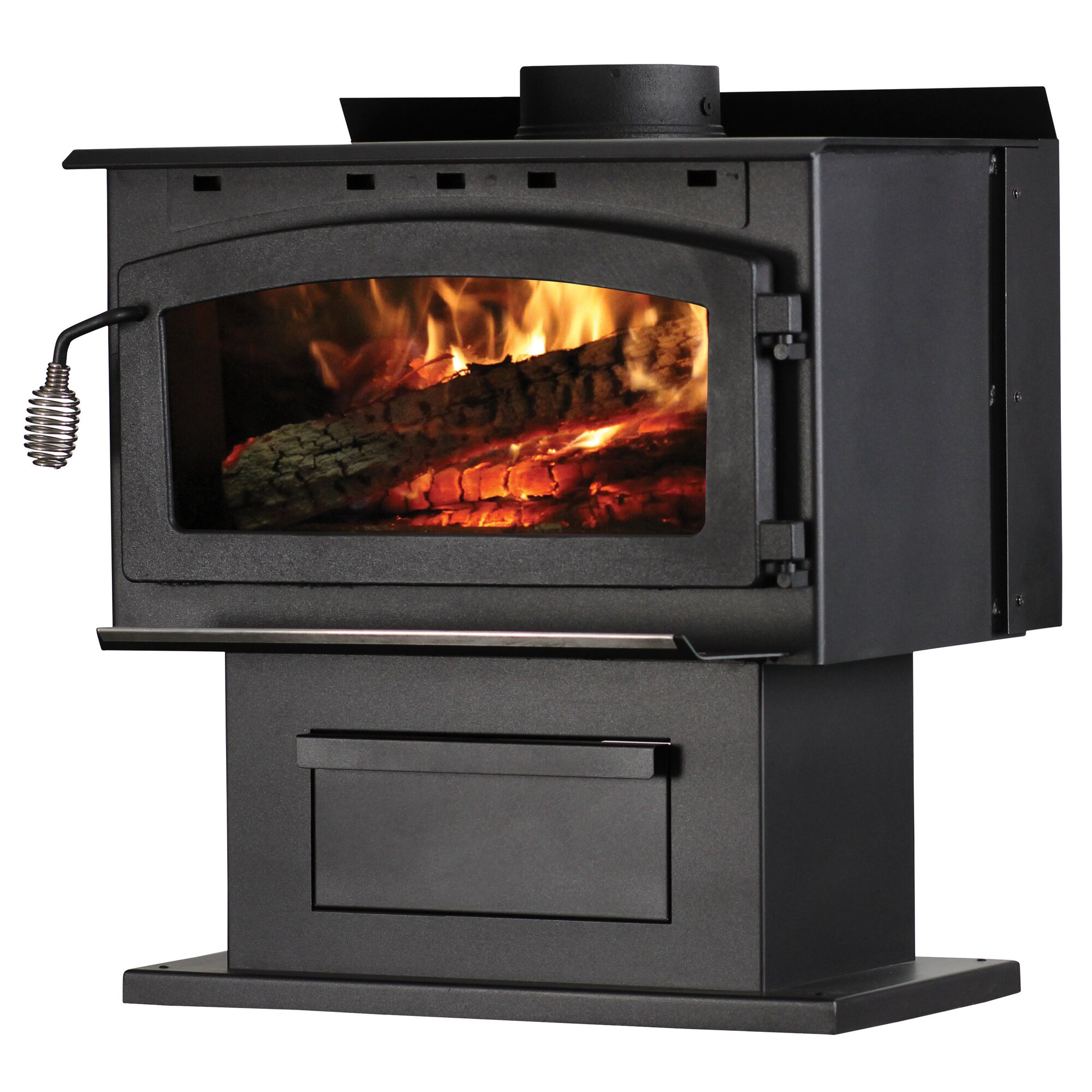 Supreme Fireplaces Inc. Vision 2,000 sq. ft. Wood Stove & Reviews ...