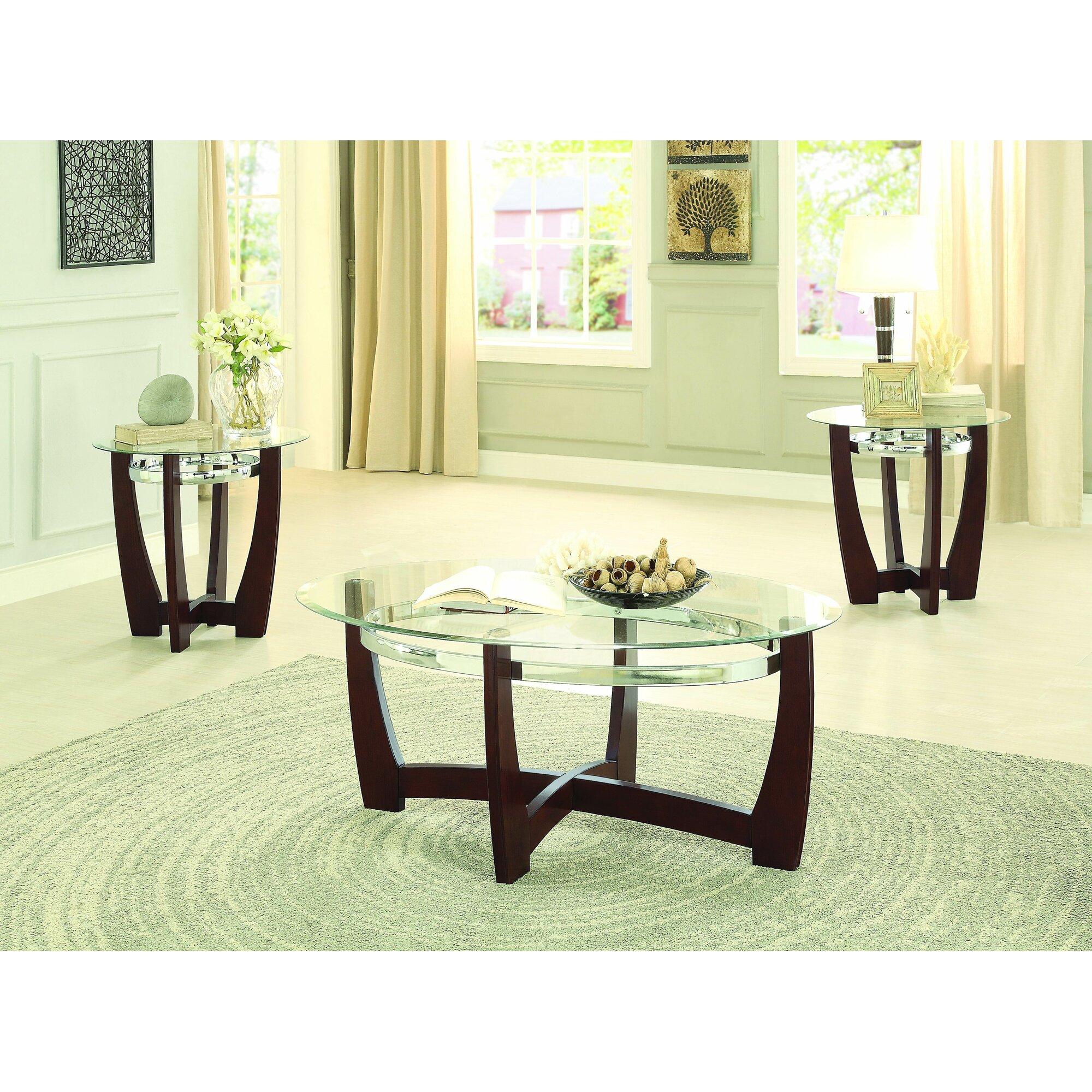 Coffee Table Sets At Wayfair: Latitude Run Catalina 3 Piece Coffee Table Set & Reviews