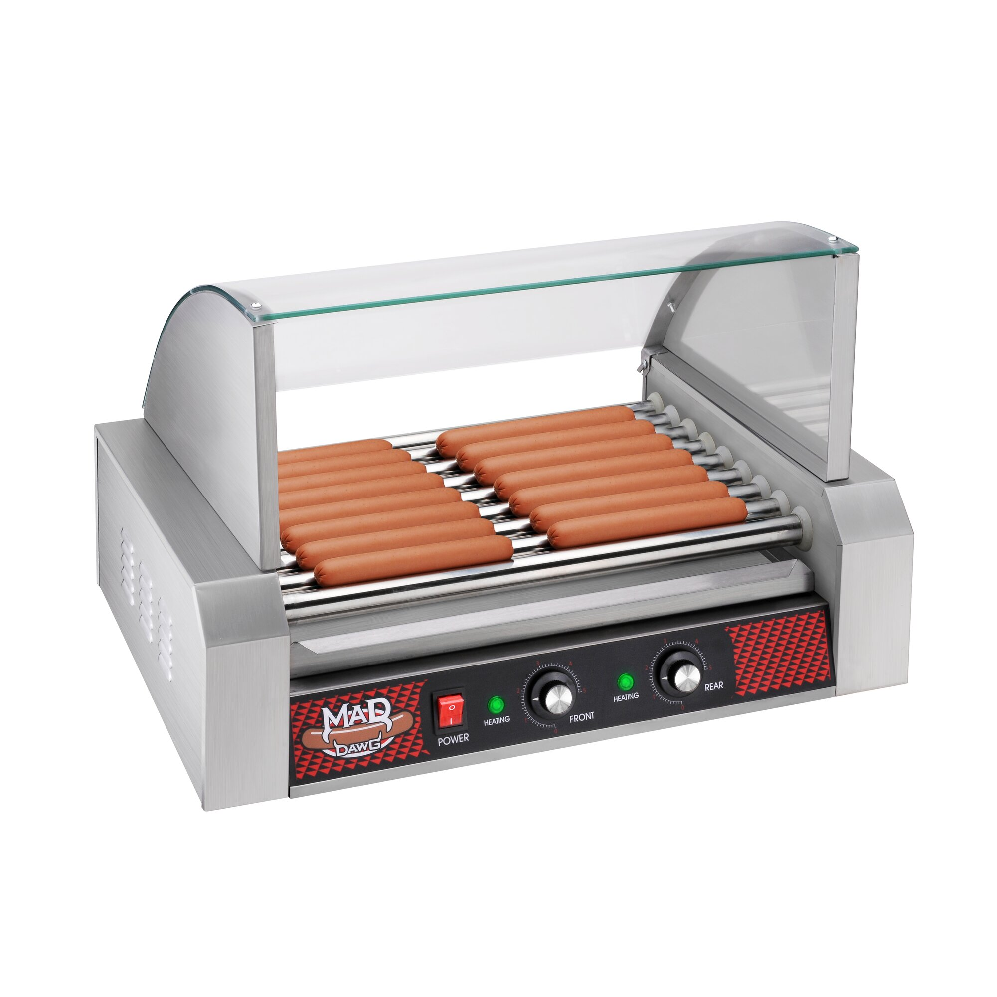 Uncategorized Hot Dog Cookers Specialty Kitchen Liances Great Northern Popcorn Mad Dawg Commercial 9 Roller