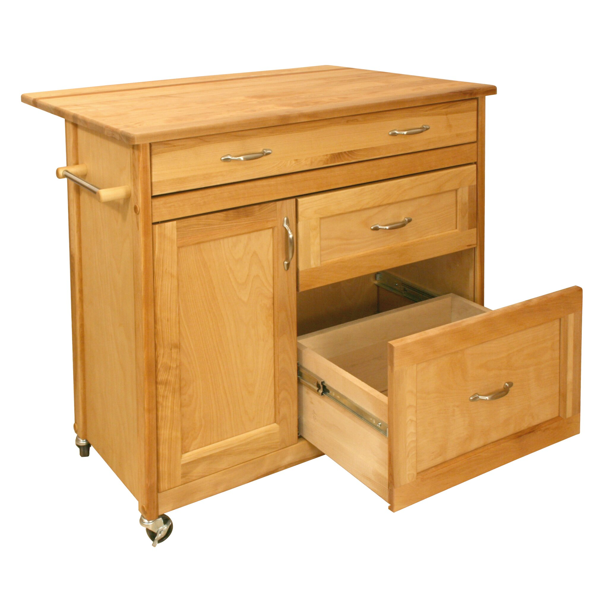 Catskill Craftsmen Kitchen Island Amp Reviews Wayfair