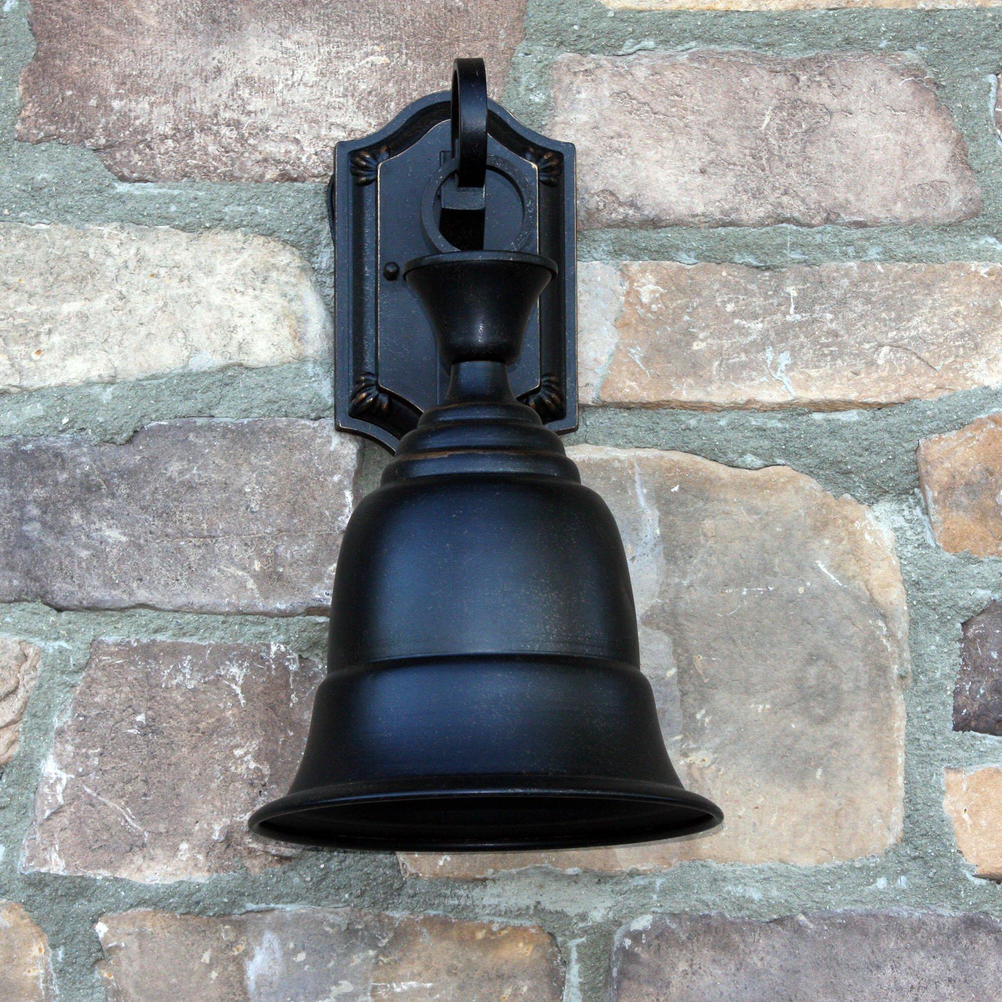 Goodyear 1 Light Outdoor Barn Light: Y Decor Liberty 1-Light Outdoor Barn Light & Reviews