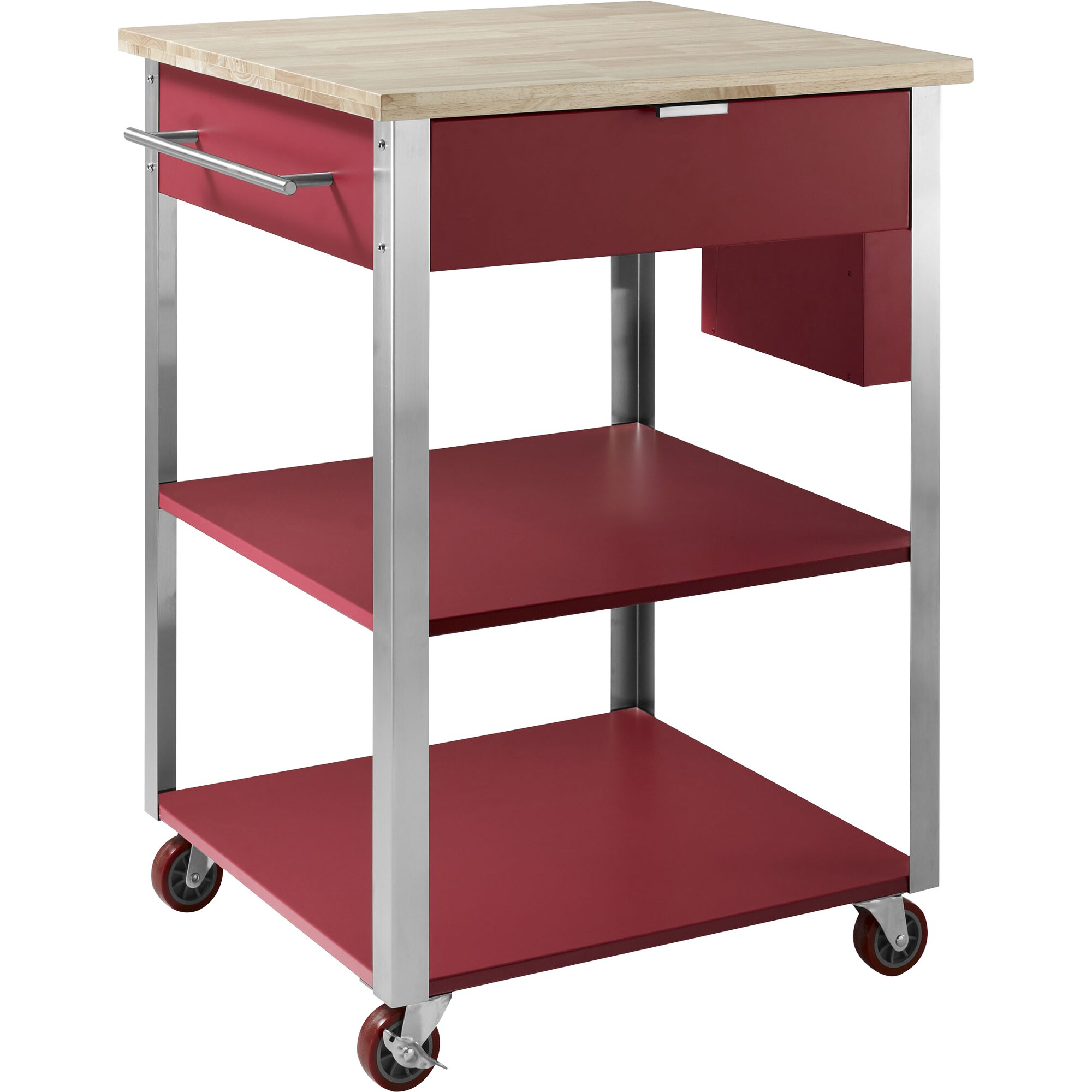 Crosley Kitchen Cart With Butcher Block Top Amp Reviews