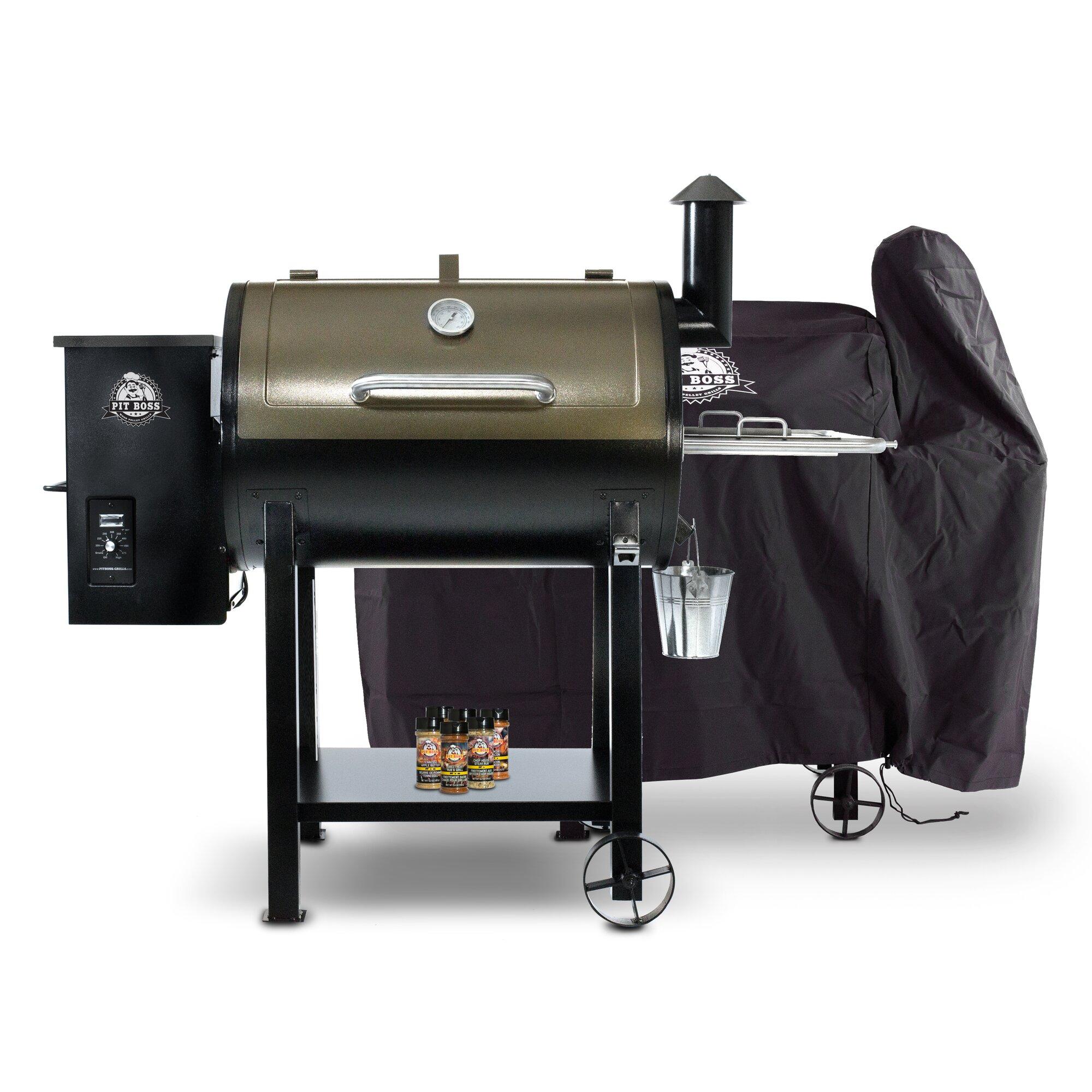 Pit Boss 820d Wood Pellet Grill With Smoker Wayfair Ca