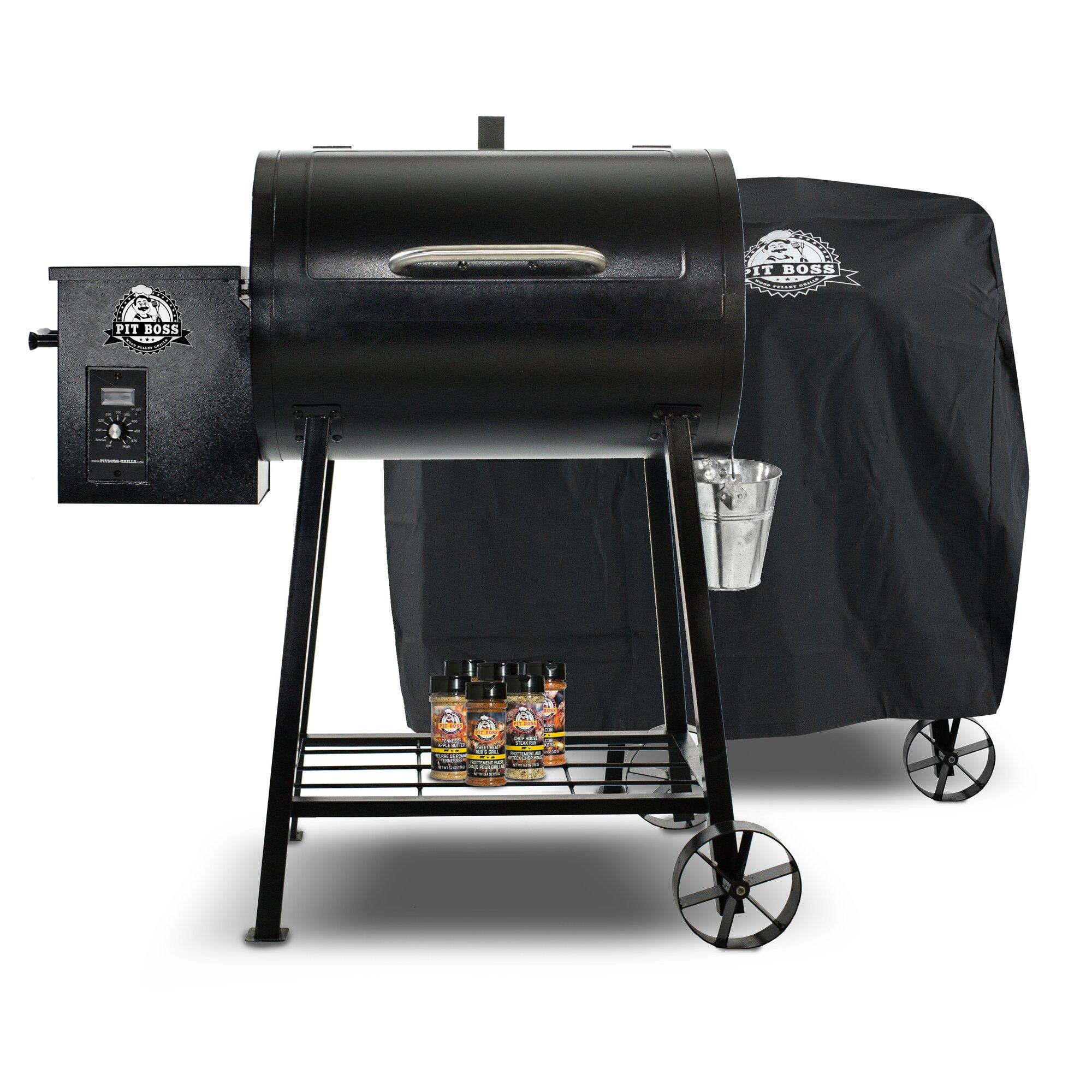 Pit Boss 340 Wood/Pellet Grill with Smoker | Wayfair.ca