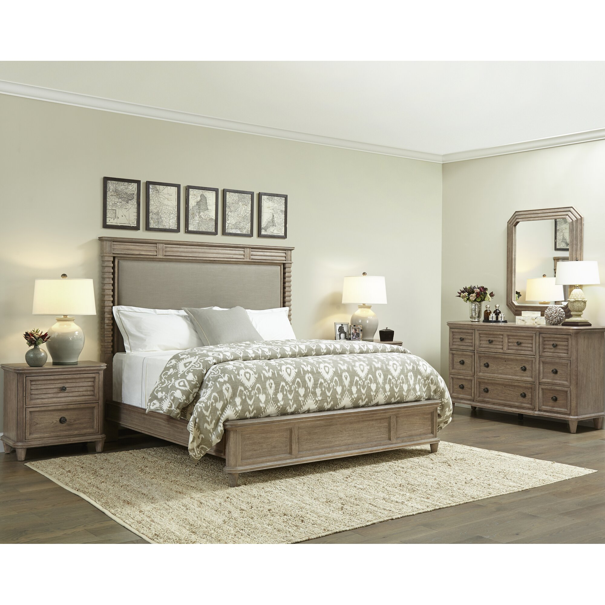 Stanley Hadley Panel Customizable Bedroom Set & Reviews | Wayfair