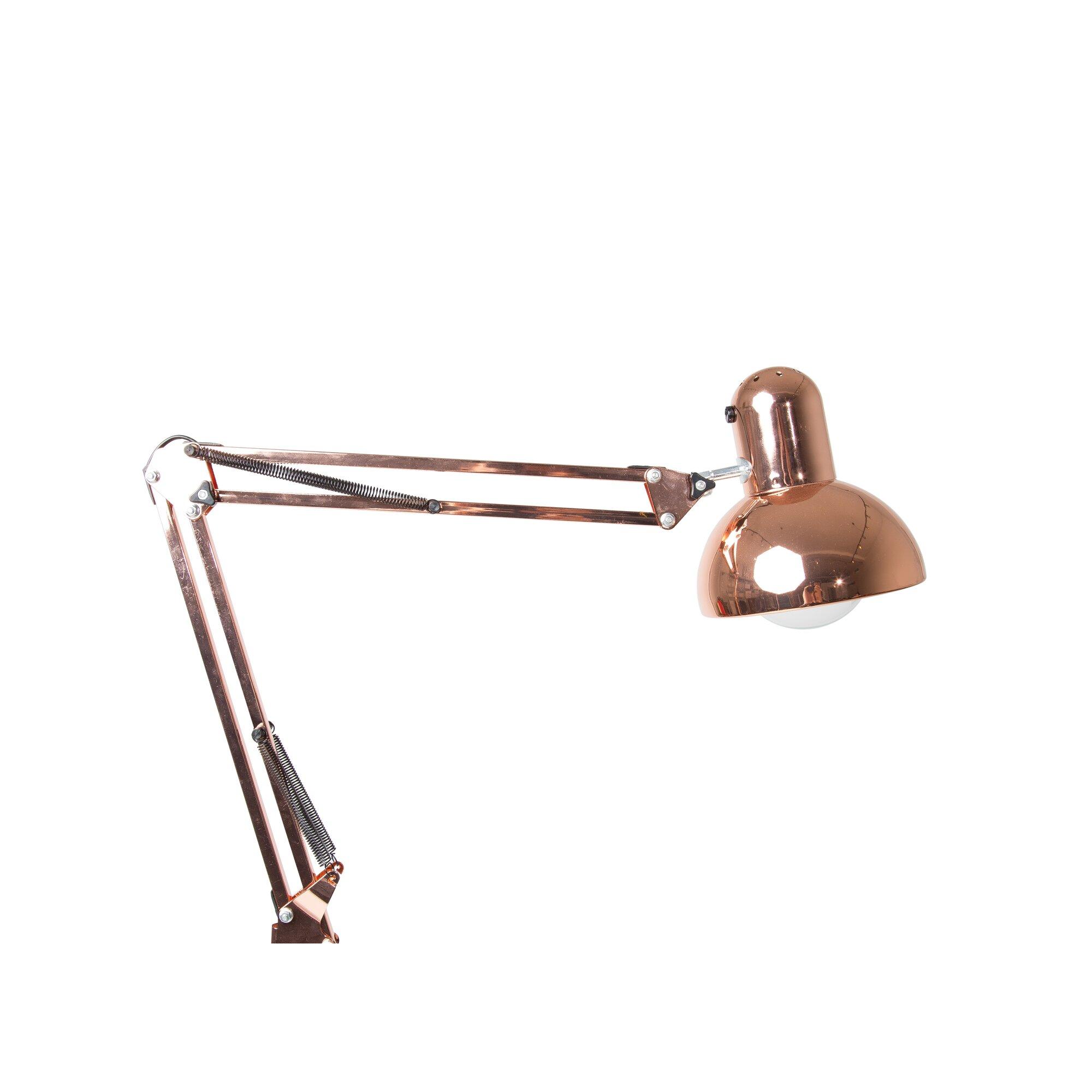 Kure industrial 60 task floor lamp for Wayfair industrial lamp