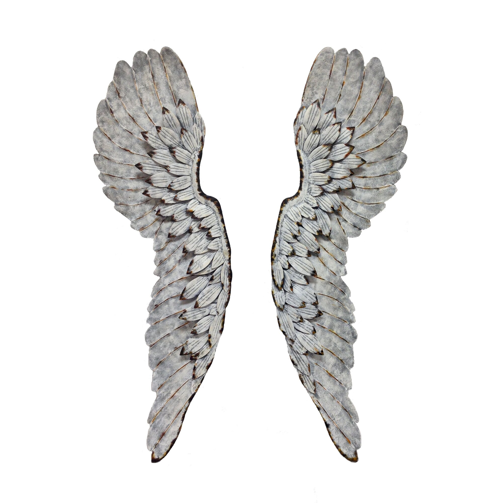 Angel Wings Home Decor: Wilco Home Metal Angel Wings Wall Décor & Reviews