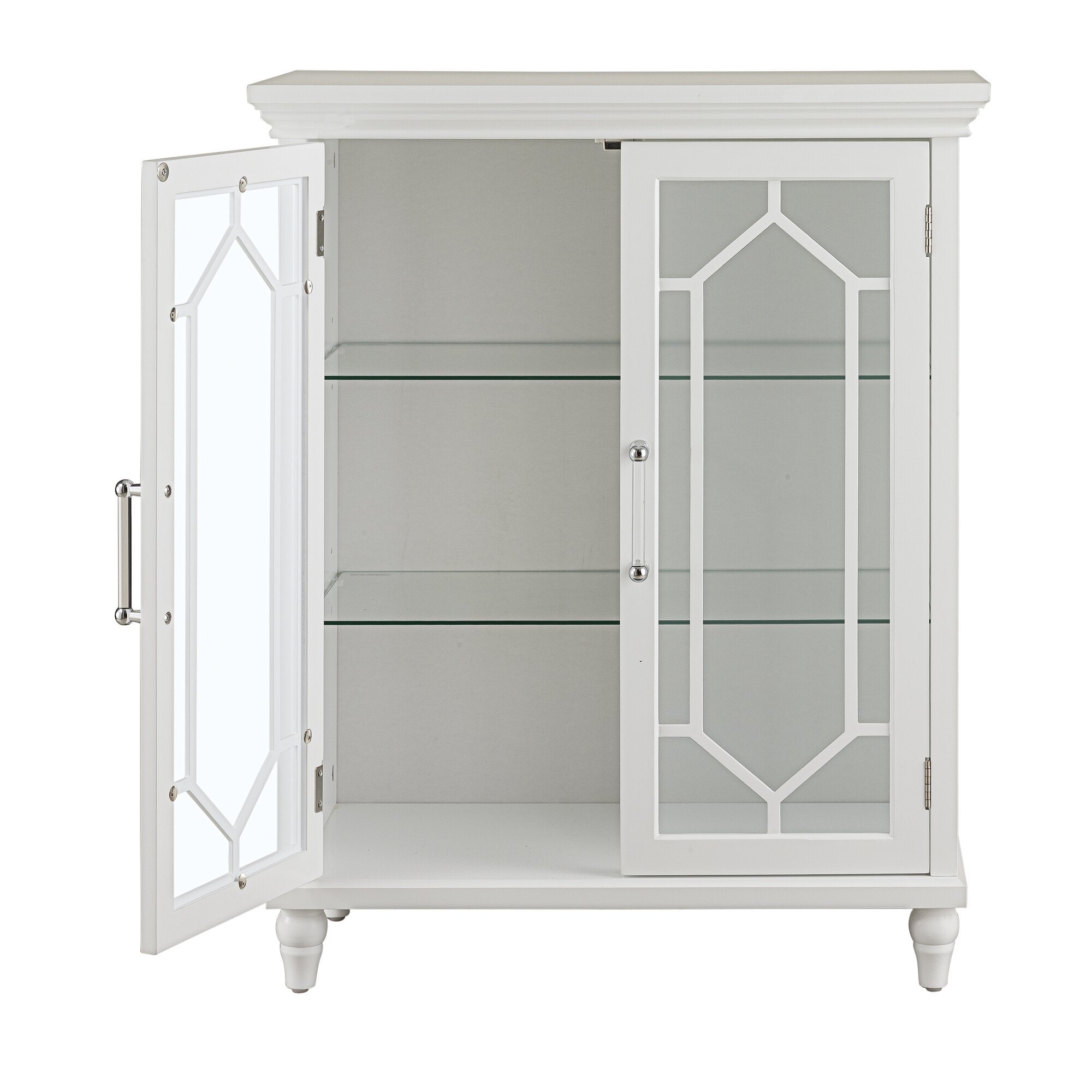 Elegant home fashions toulouse 2 door floor cabinet reviews wayfair - Cabinet d audit toulouse ...