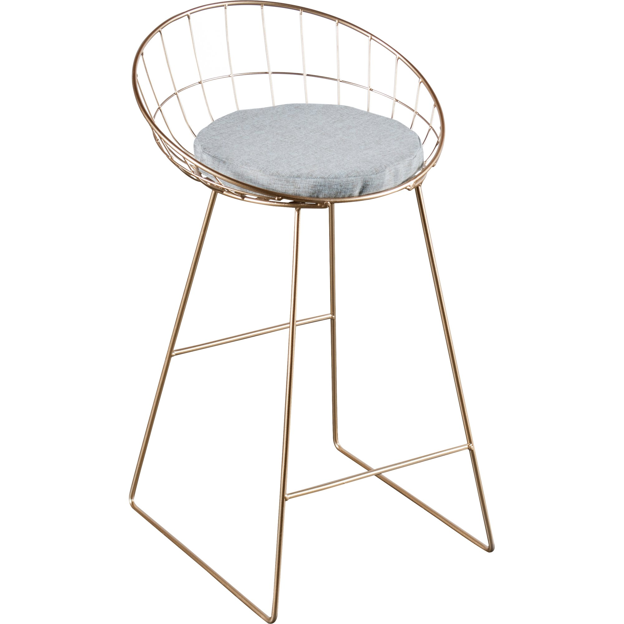 Kylie 26 Quot Bar Stool With Cushion Amp Reviews Allmodern