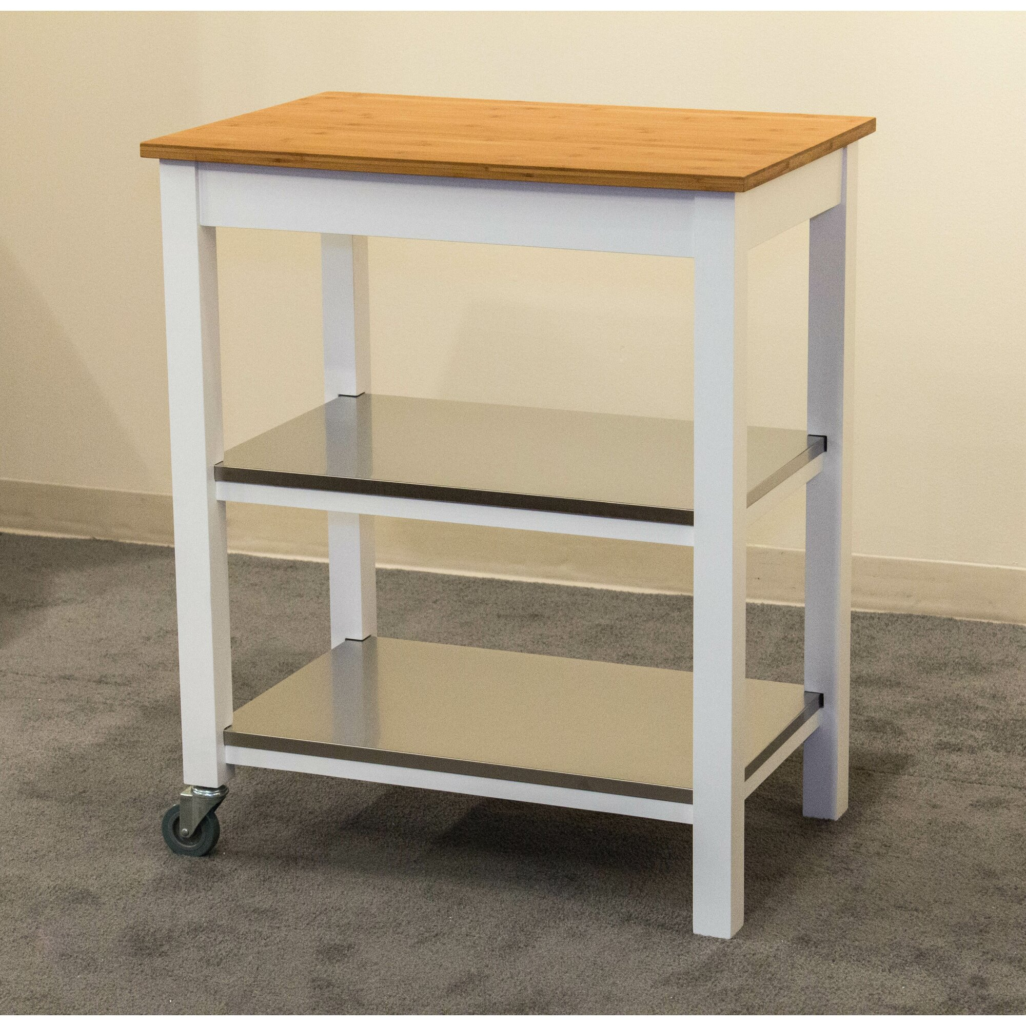 Mobile Kitchen Island it can be placed in the center of the kitchen as an ordinary kitchen island description from funkyfaithgirlcom i searched for this on bingcomi Kitchen Islands Carts Youll Love Wayfair