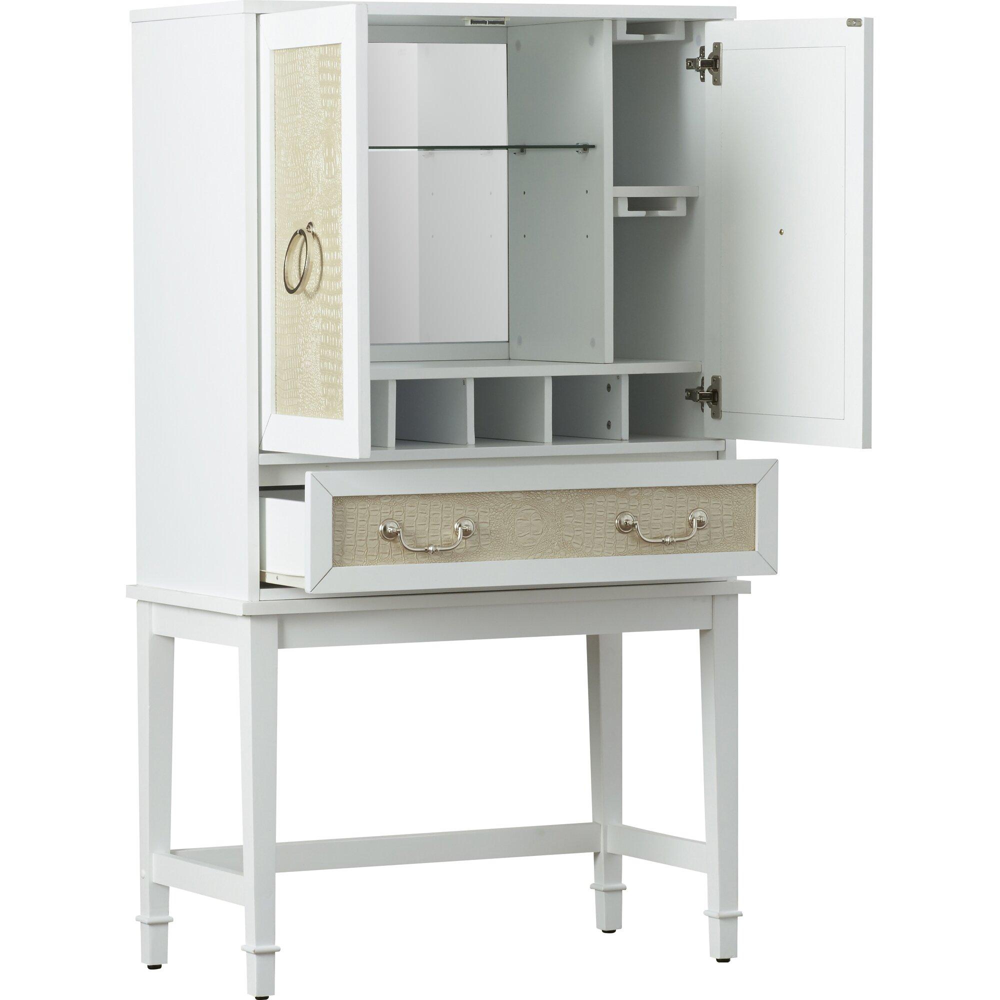 Willa arlo interiors lamphere bar cabinet with wine - Willa arlo interiors keeley bar cart ...