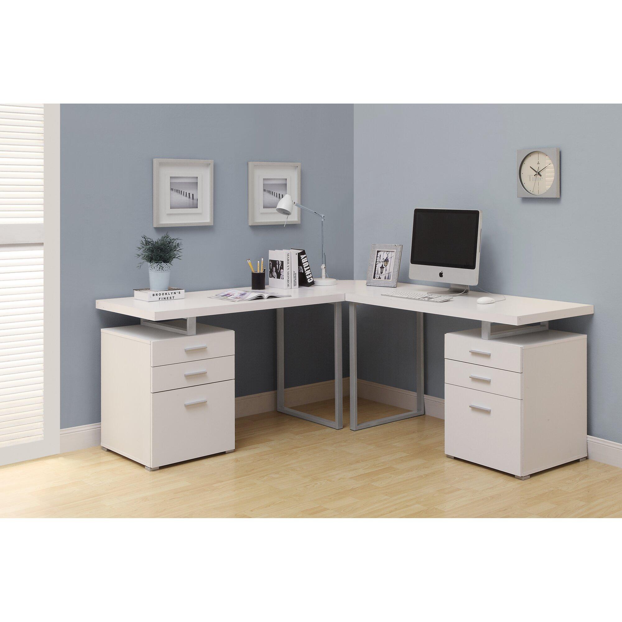 Monarch Specialties Inc L Shape Computer Desk Amp Reviews