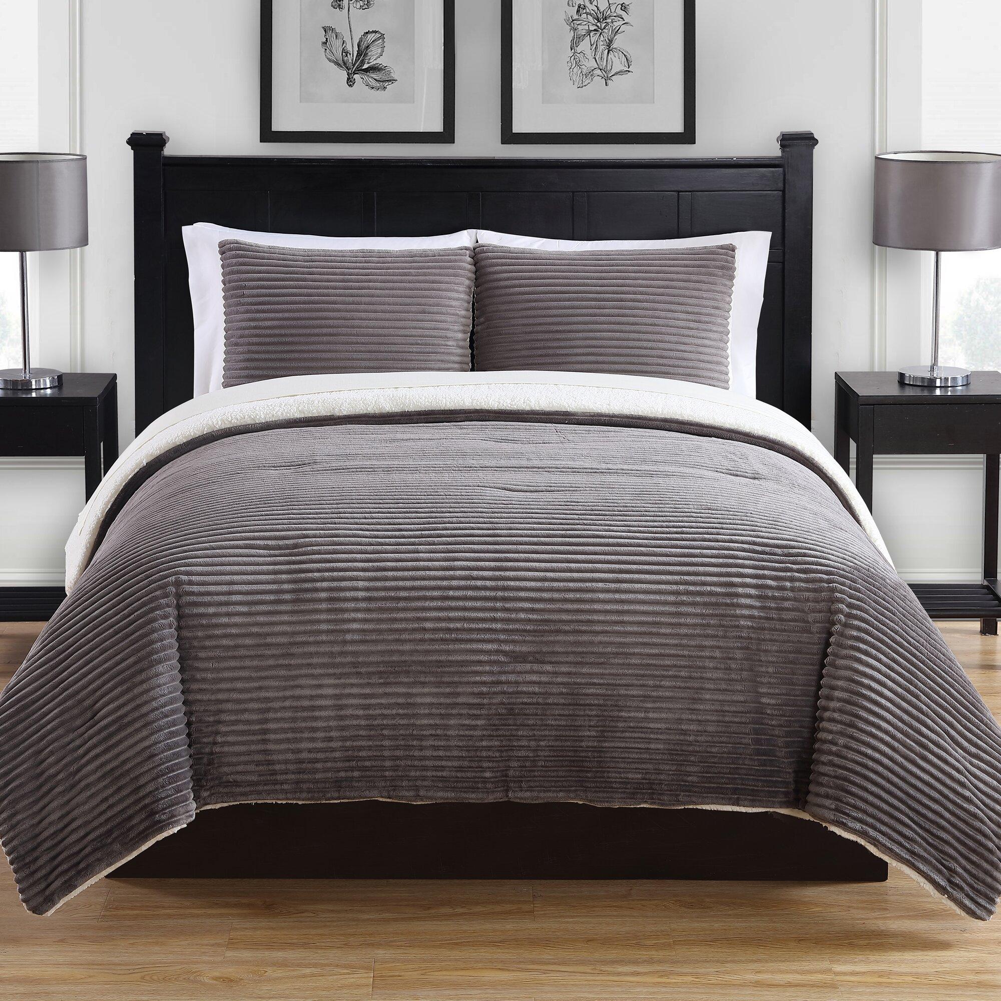 modern comforter set - modern king bedding sets allmodern