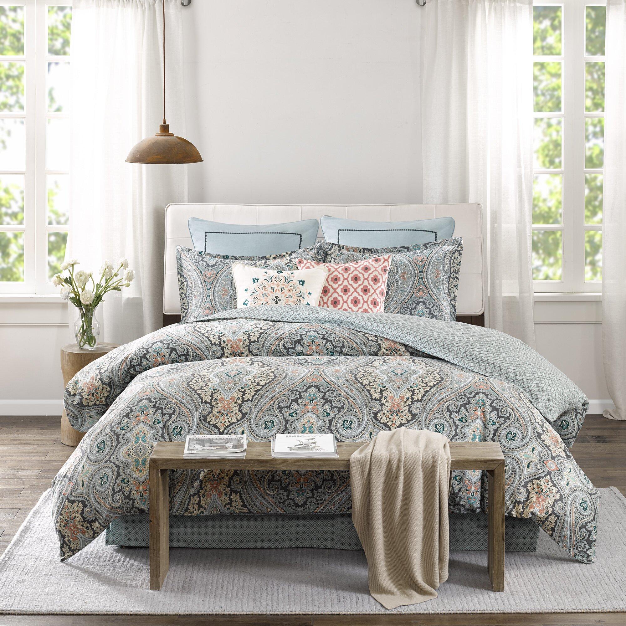 echo design sterling reversible comforter set  reviews