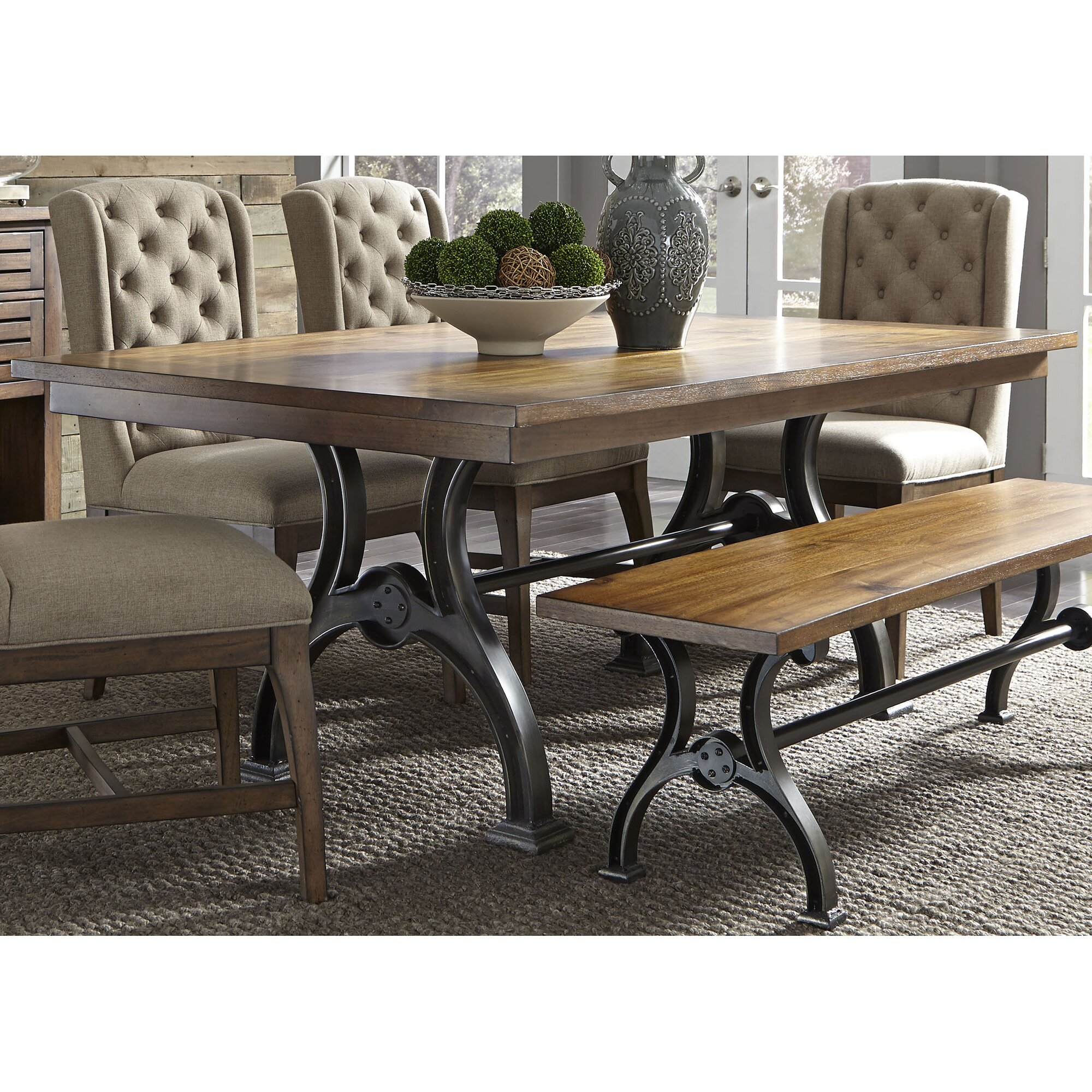bryker 6 piece dining table set - Dining Room Tables Austin