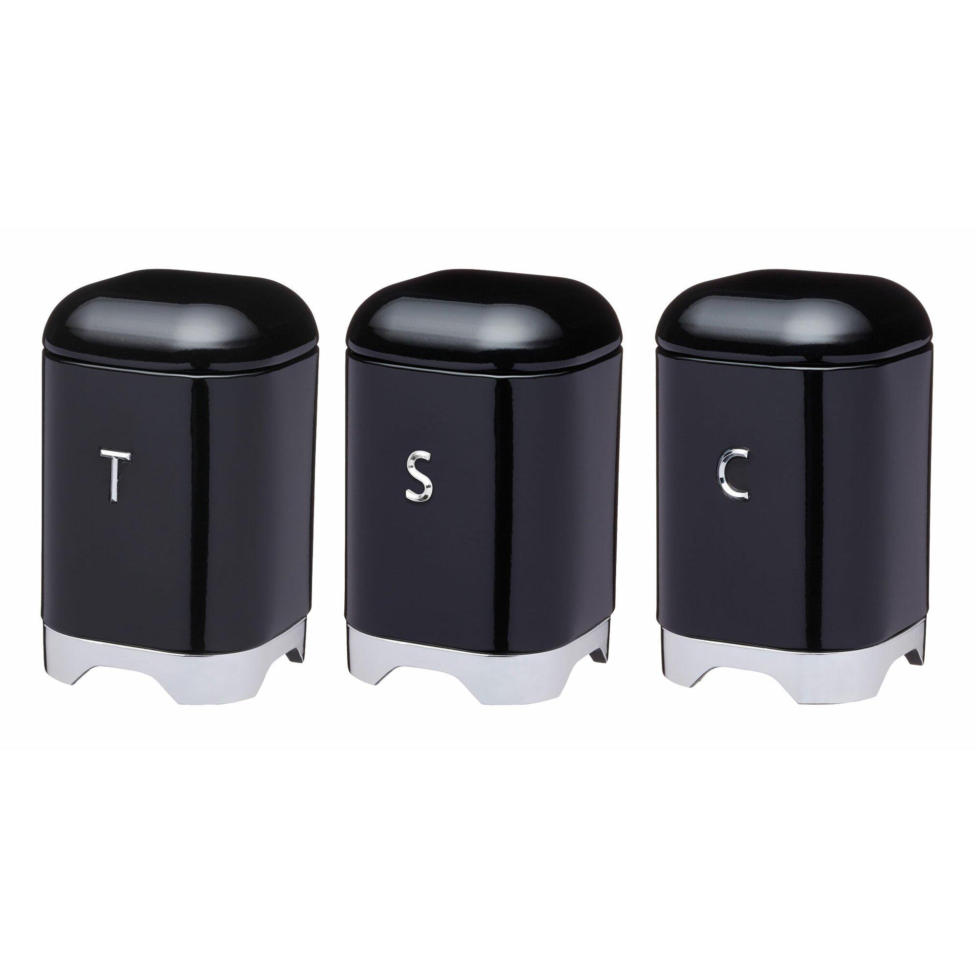 kitchen craft lovello 3 piece canister set reviews