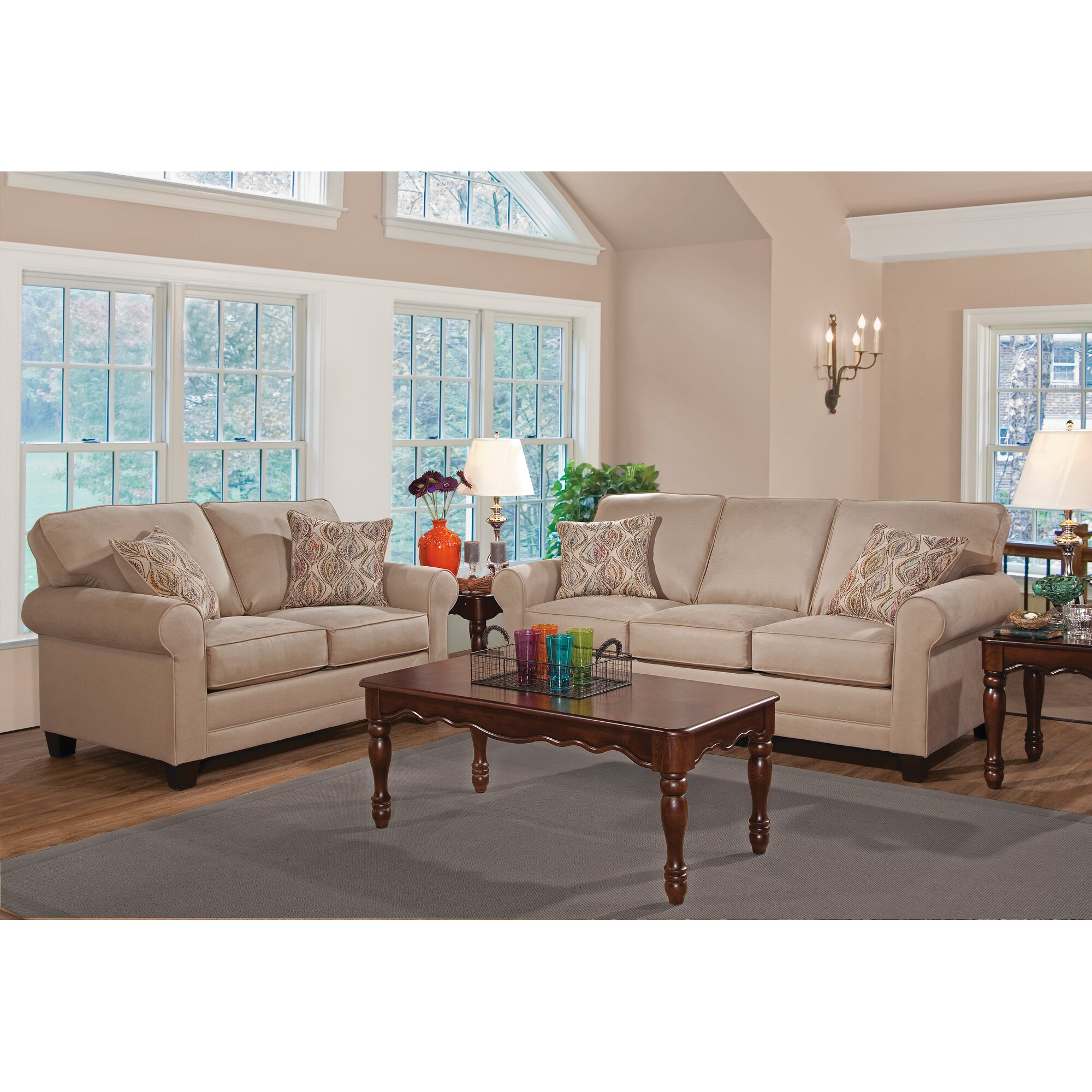 Alcott hill living room collection reviews wayfair for Living room of satoshi review