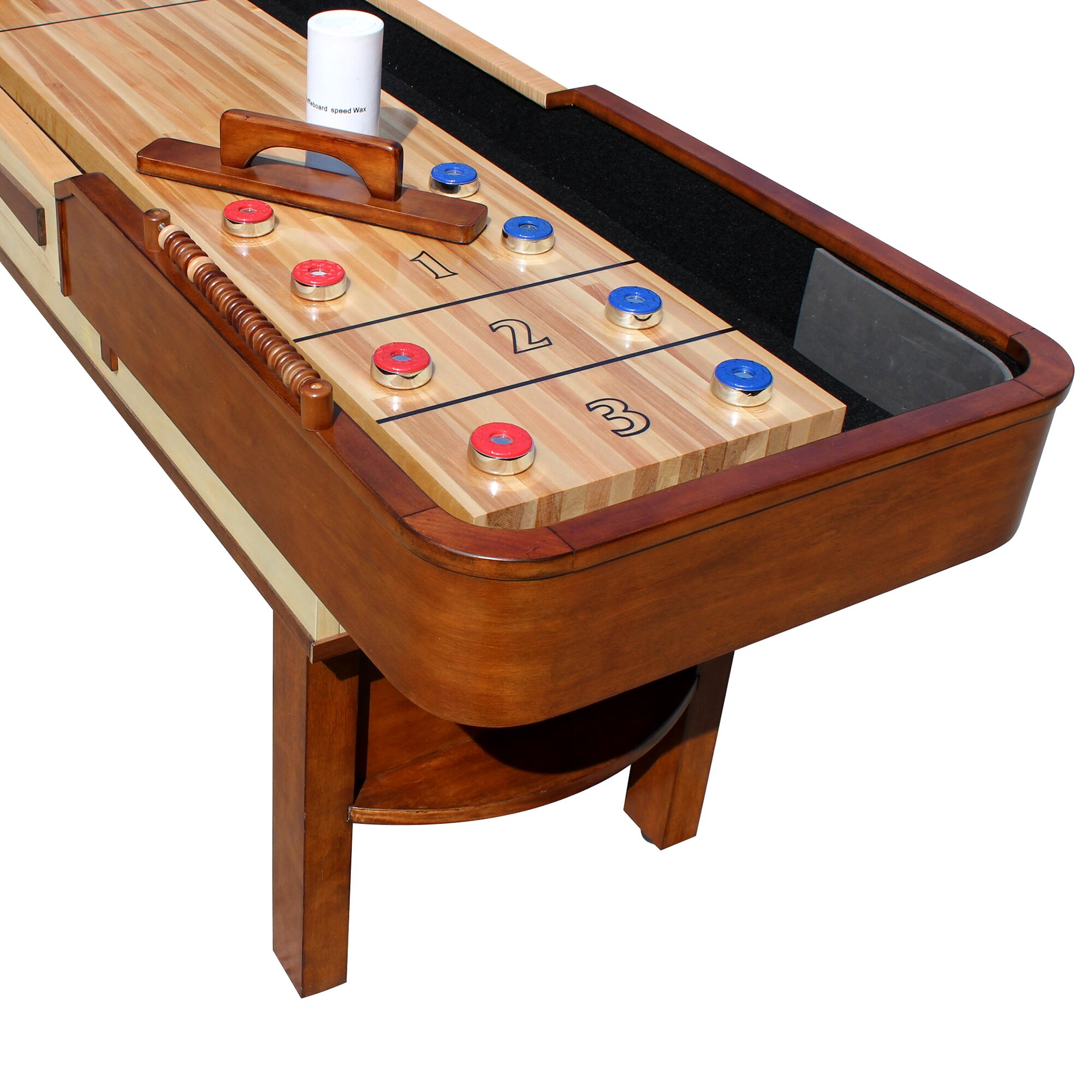 Hathaway Games Merlot Shuffleboard Table & Reviews