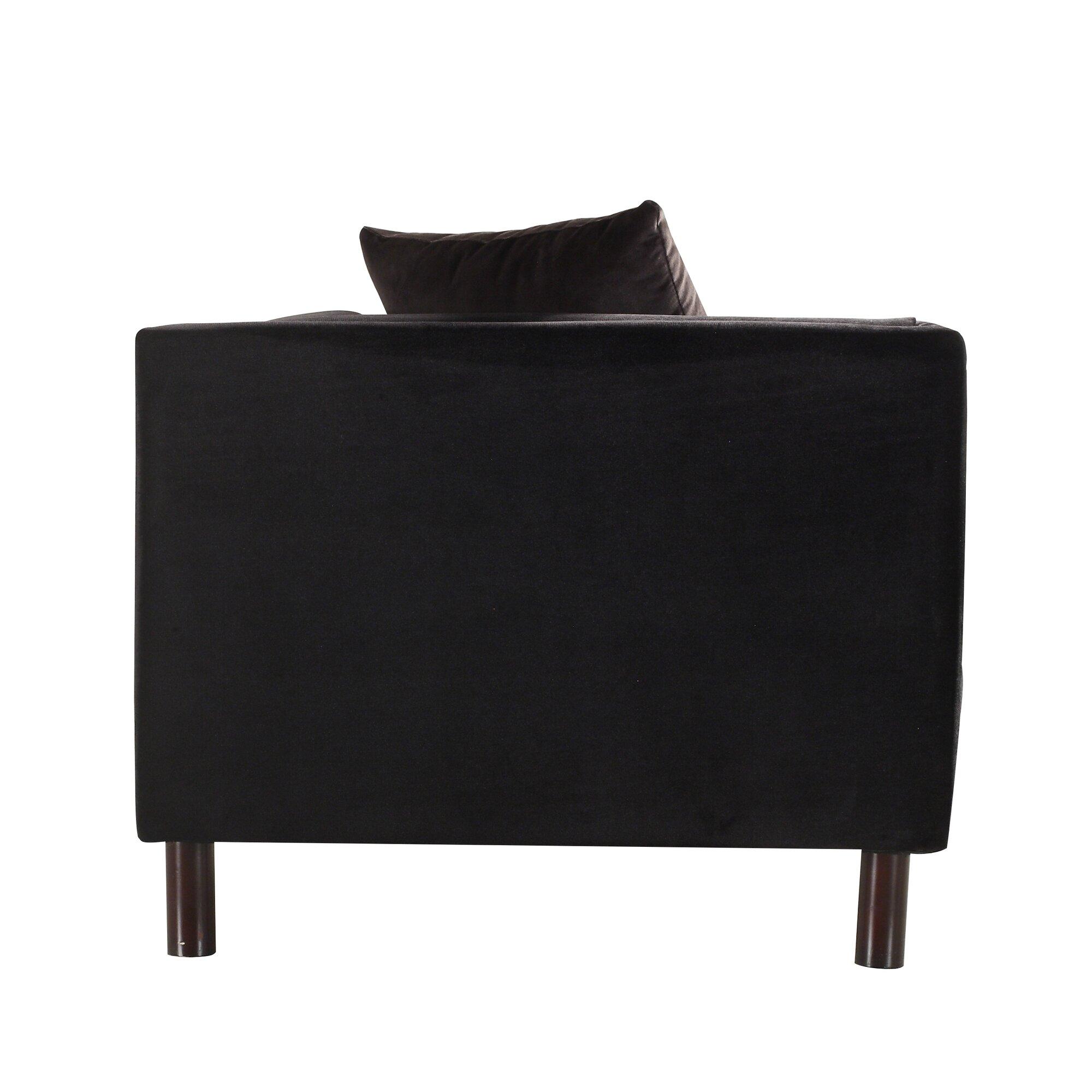 mid century modern sofa reviews allmodern. Black Bedroom Furniture Sets. Home Design Ideas