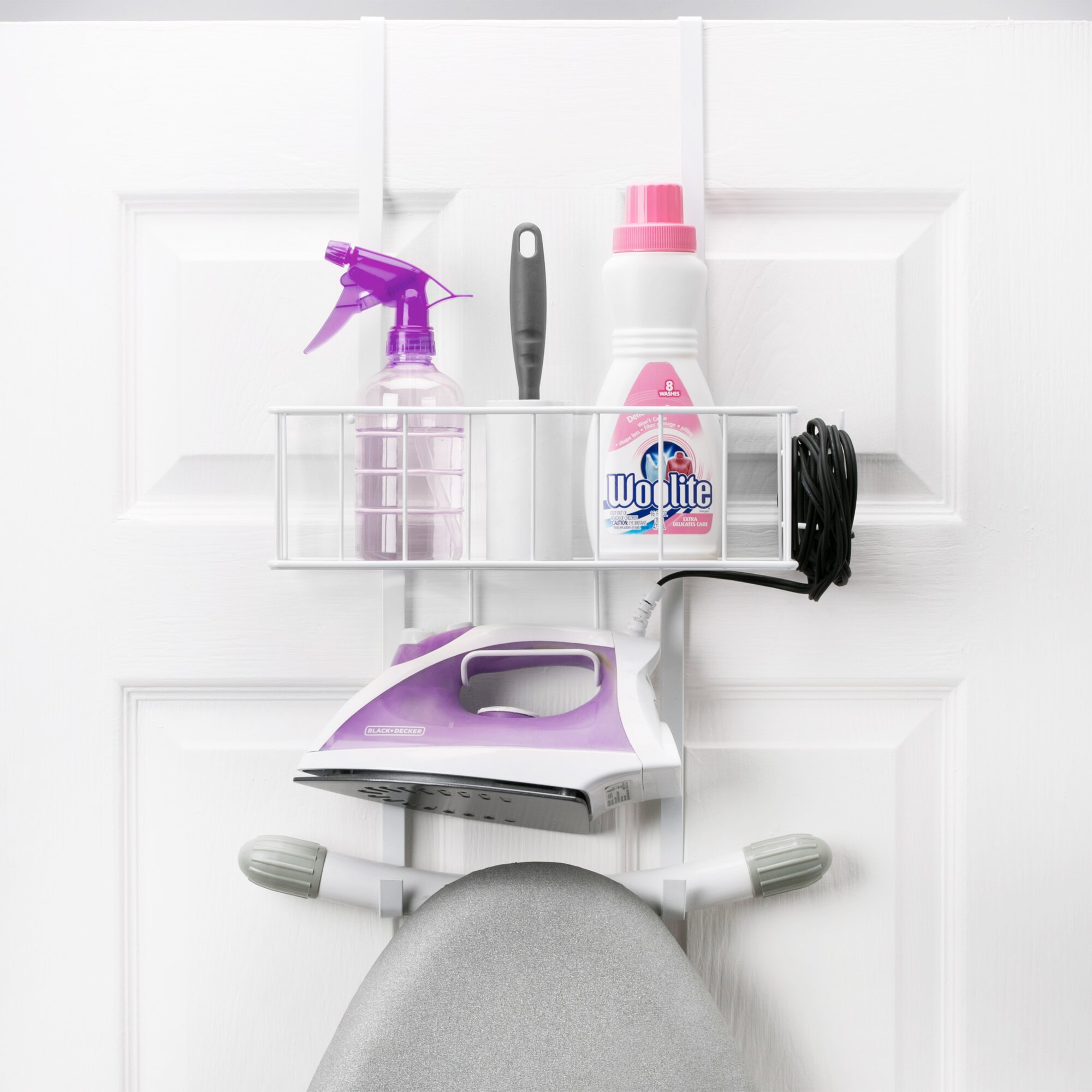 Woolite Over-the-Door Iron and Ironing Board Organizer & Reviews ...
