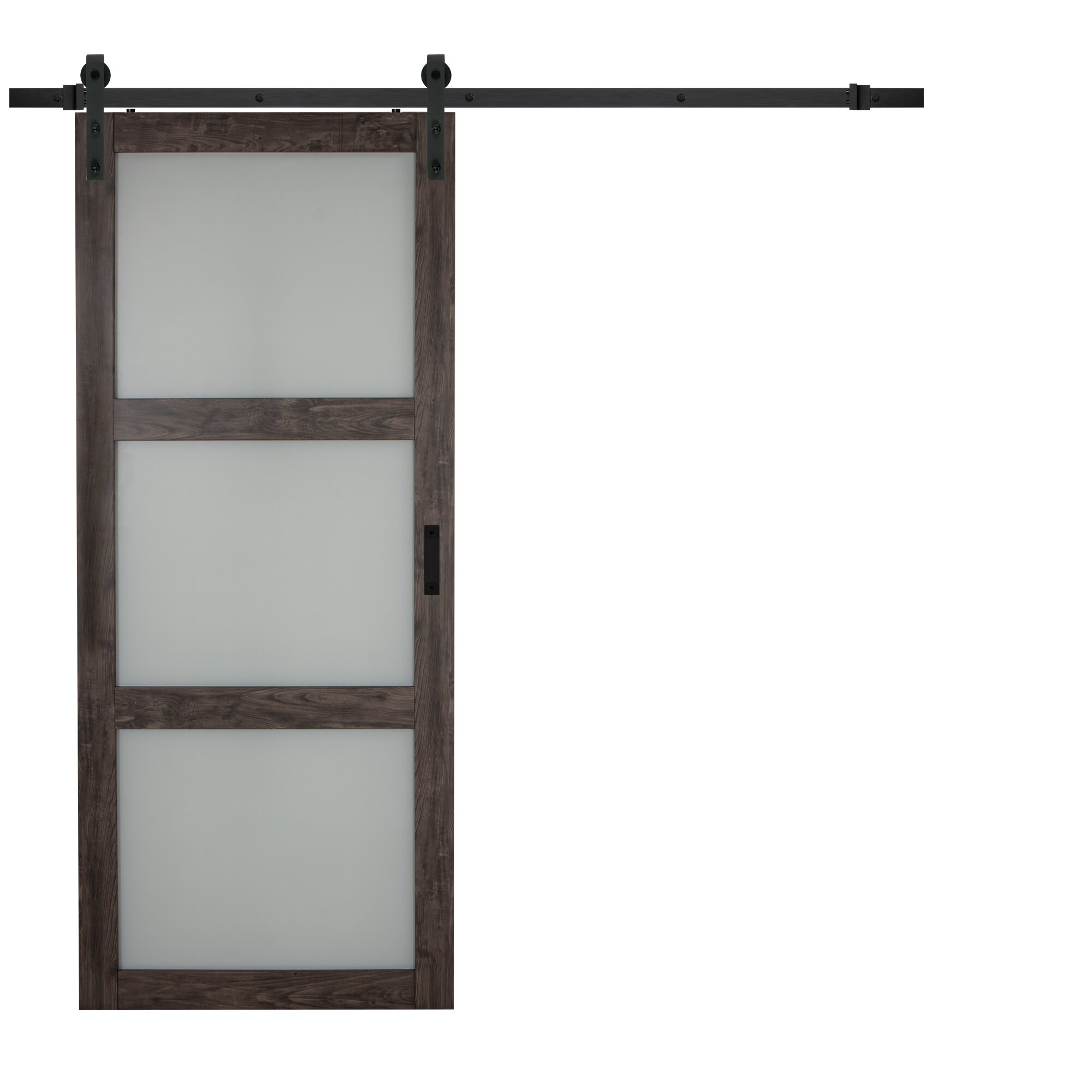 Beautiful Erias Home Designs Continental Frosted Glass Panel Ironage   Erias Home  Designs