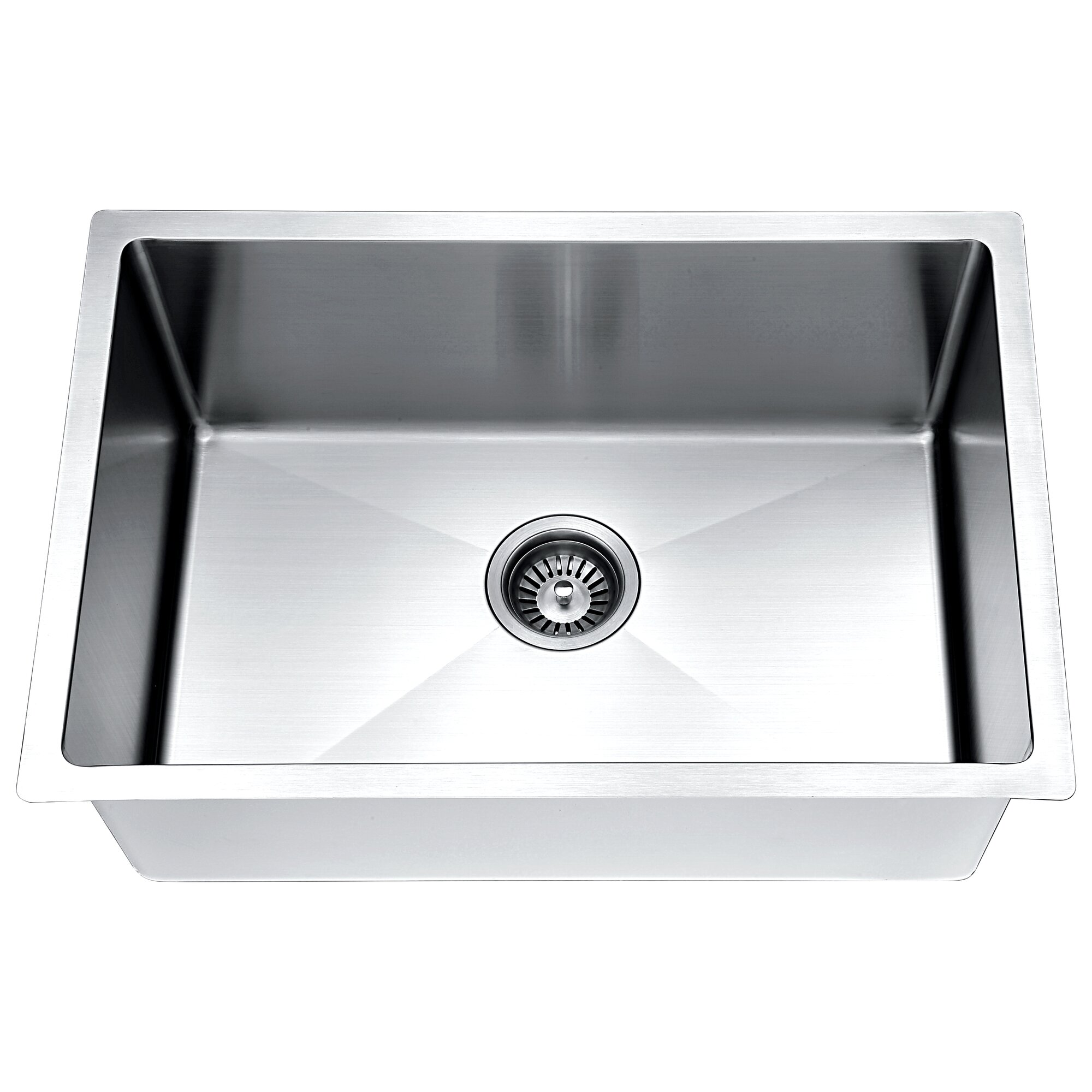26 x 18 single bowl kitchen sink - White Single Basin Kitchen Sink