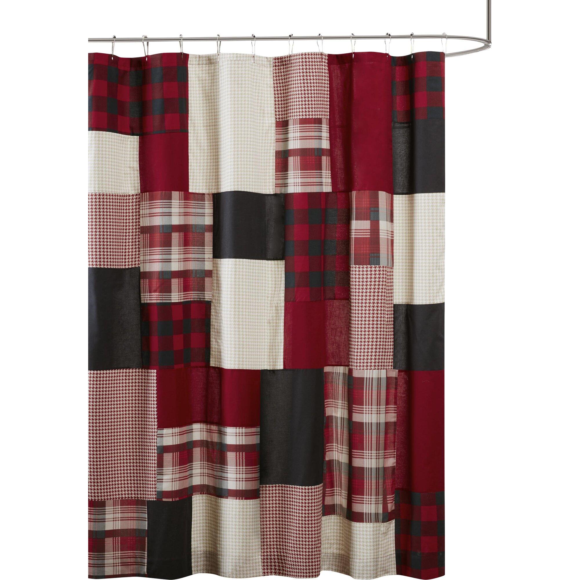 Winter shower curtain - Woolrich Winter Hills 100 Cotton Shower Curtain U0026 Reviews Wayfair