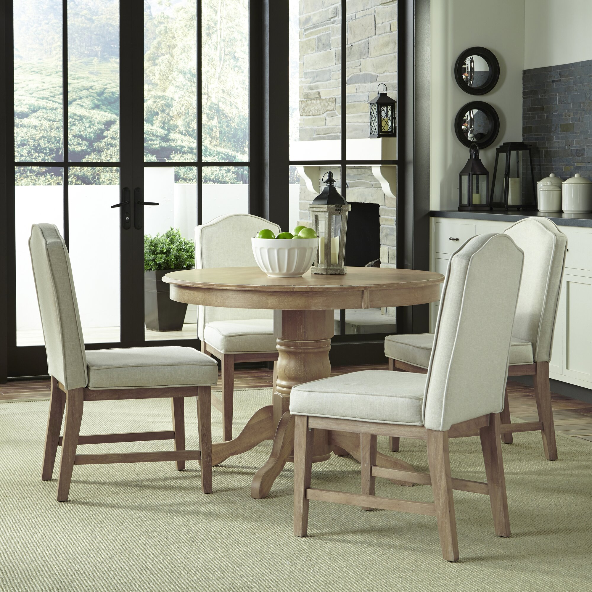 Home styles 5 piece dining set reviews wayfair for 2 piece dining room set