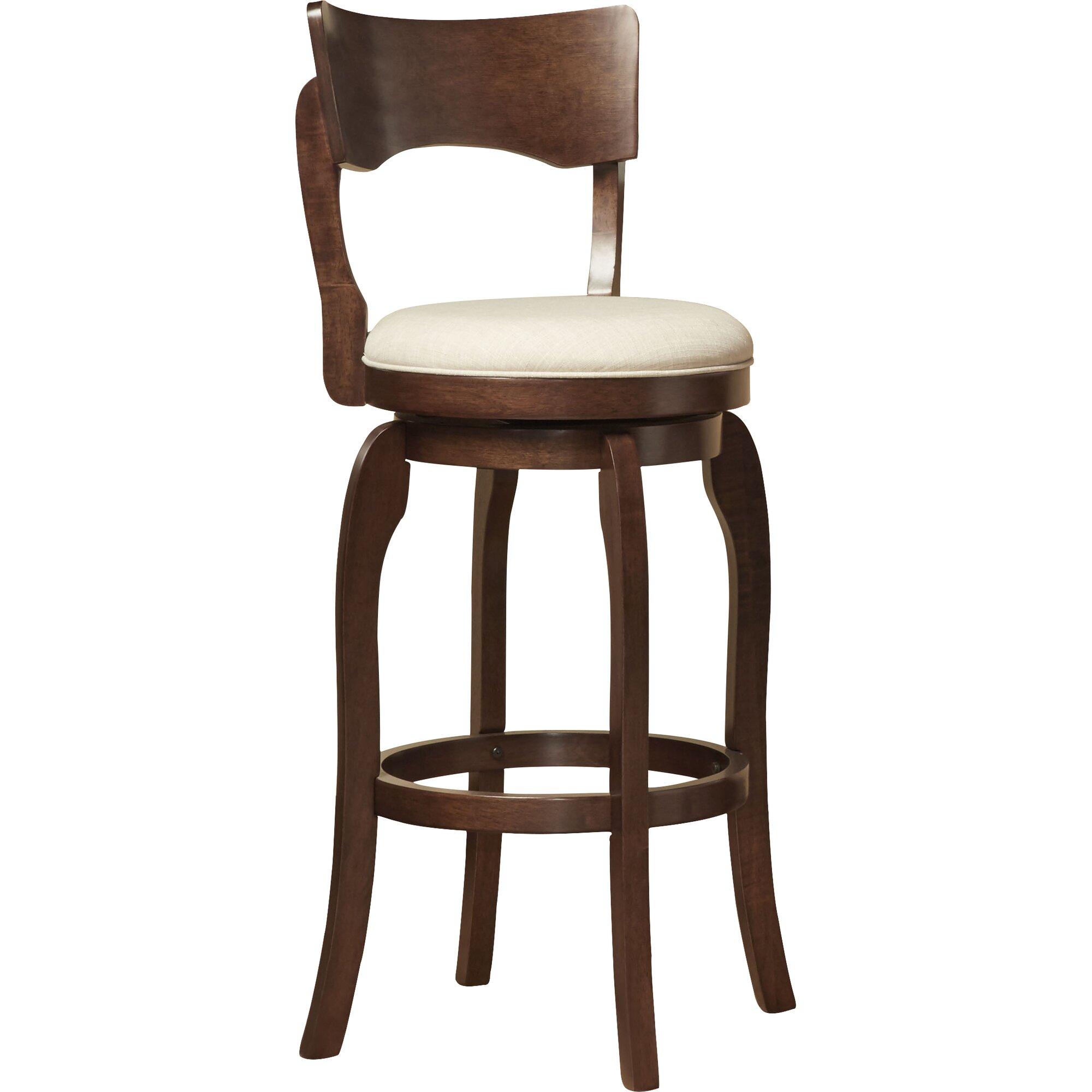 Three Posts Wescott 29 Quot Swivel Bar Stool With Cushion