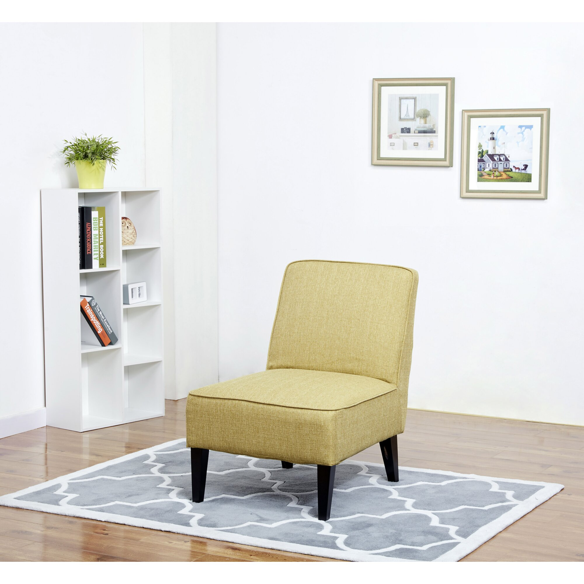 finley slipper chair - Slipper Chairs
