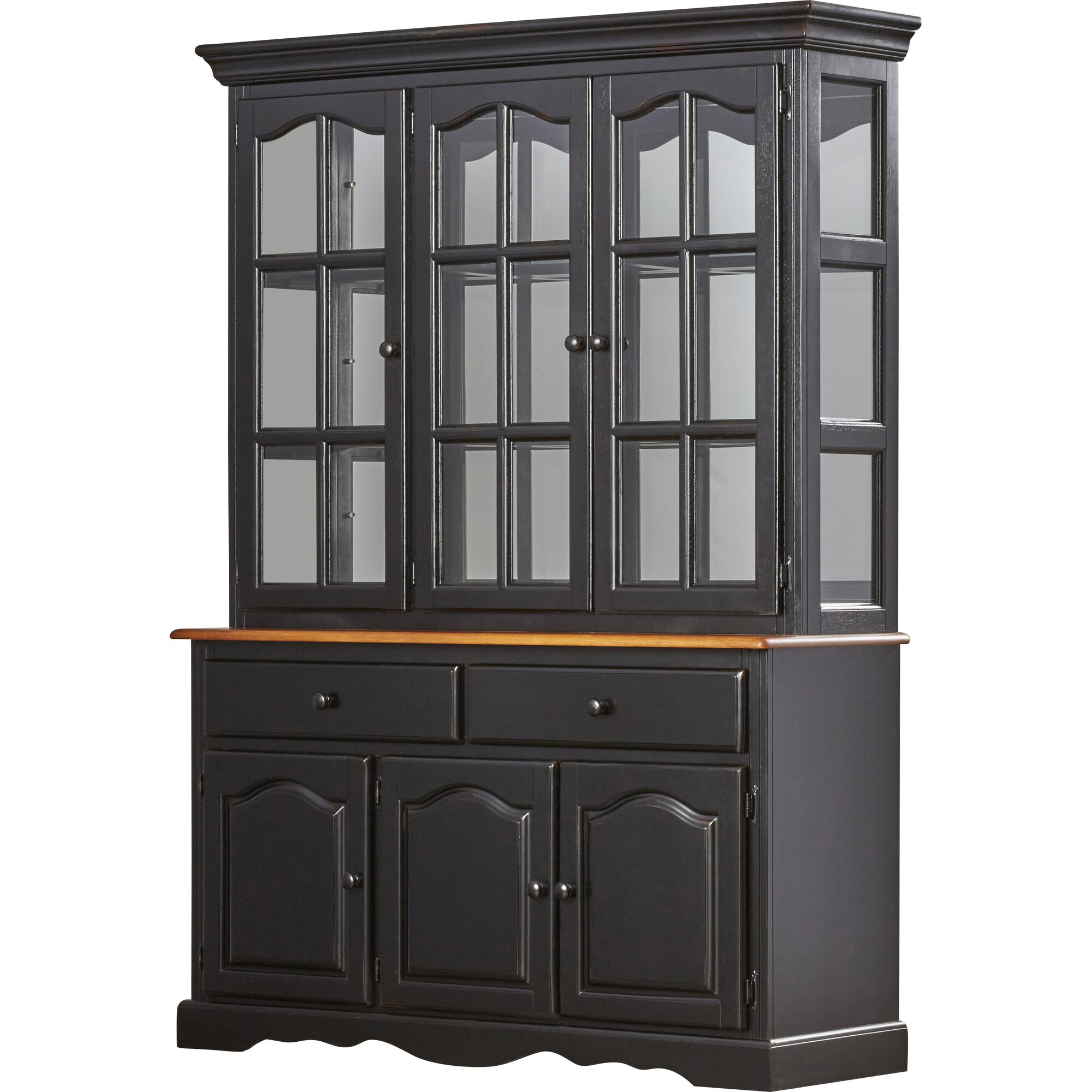 Sunset trading sunset selections dining china cabinet for Wayfair kitchen cabinets