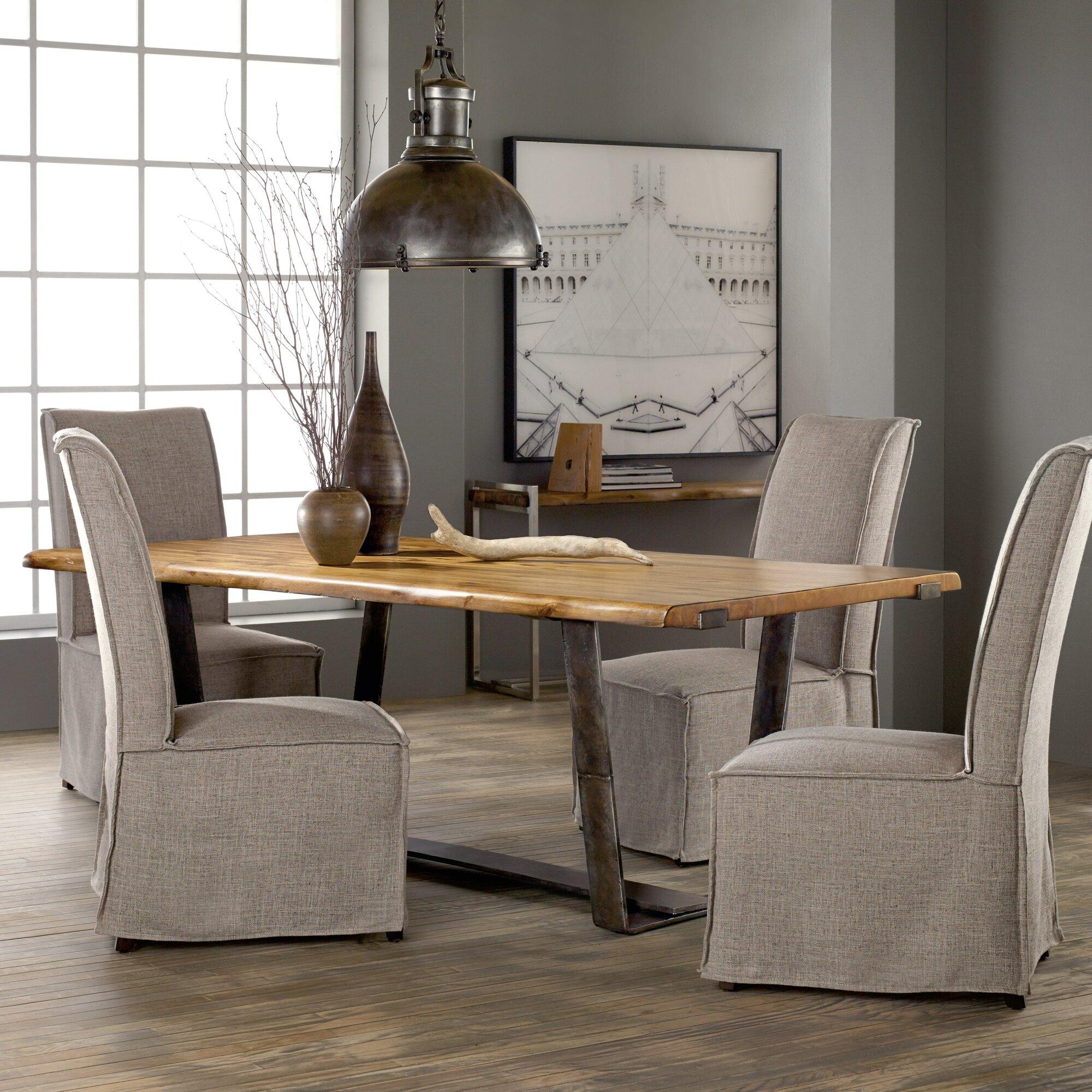 Hooker Furniture Live Edge Dining Table & Reviews | Wayfair