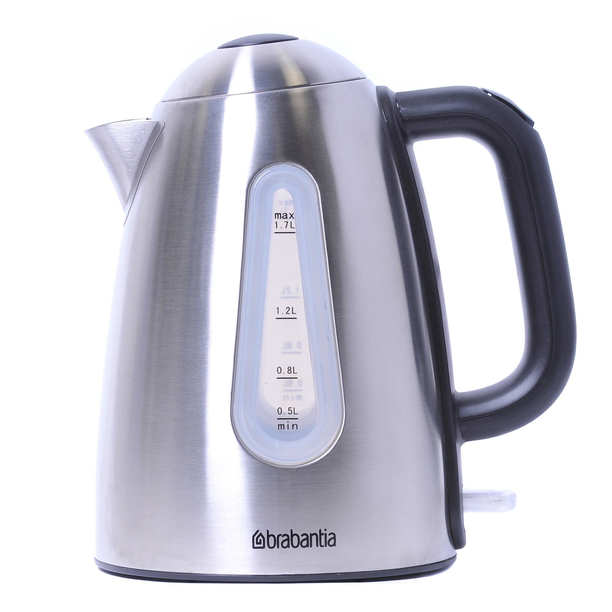 Brabantia 1 7L Stainless Steel Cordless Kettle VPB1199 on garden sheds for sale ia