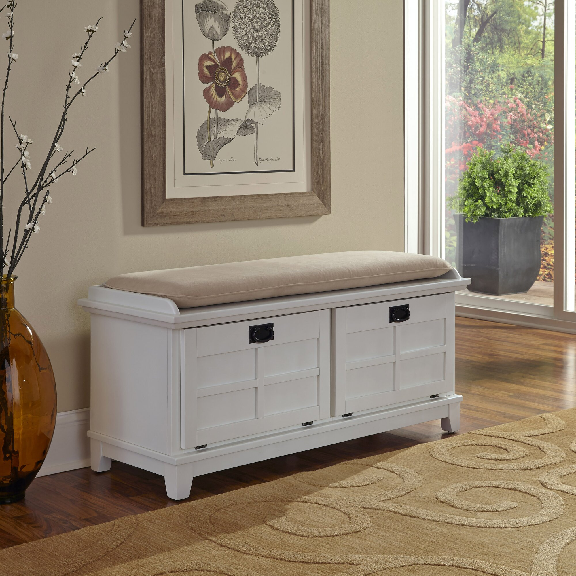Alcott Hill Lakeview Wood Storage Entryway Bench Amp Reviews