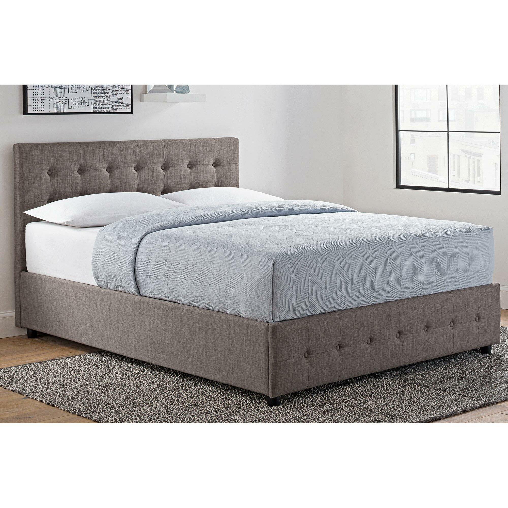 brayden studio morphis upholstered storage platform bed reviews. Black Bedroom Furniture Sets. Home Design Ideas