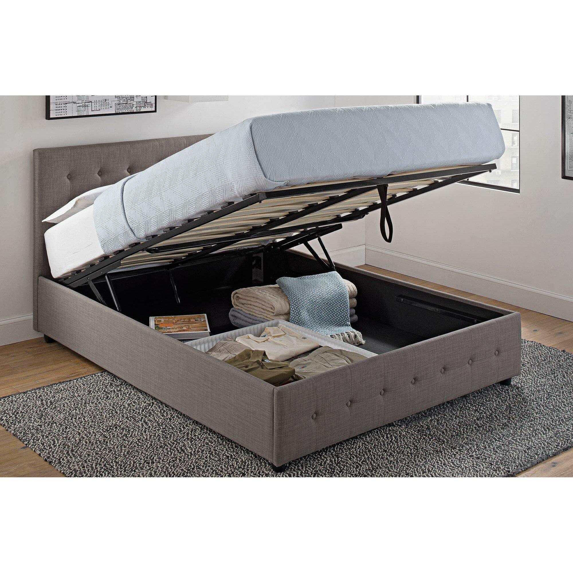 Morphis Upholstered Storage Platform Bed Amp Reviews Allmodern