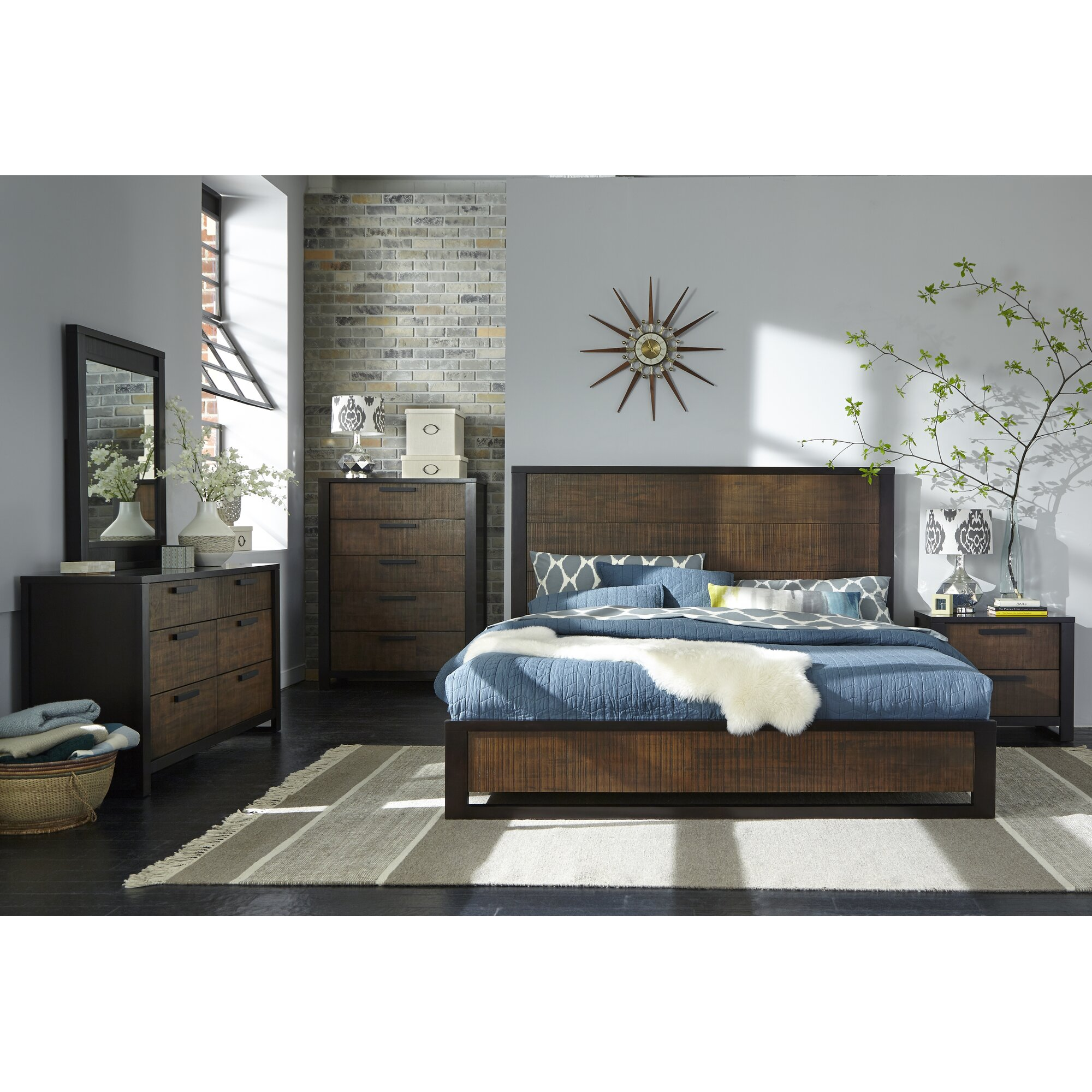 Laurel Foundry Modern Farmhouse Arrie Platform Customizable Bedroom Set Reviews Wayfair