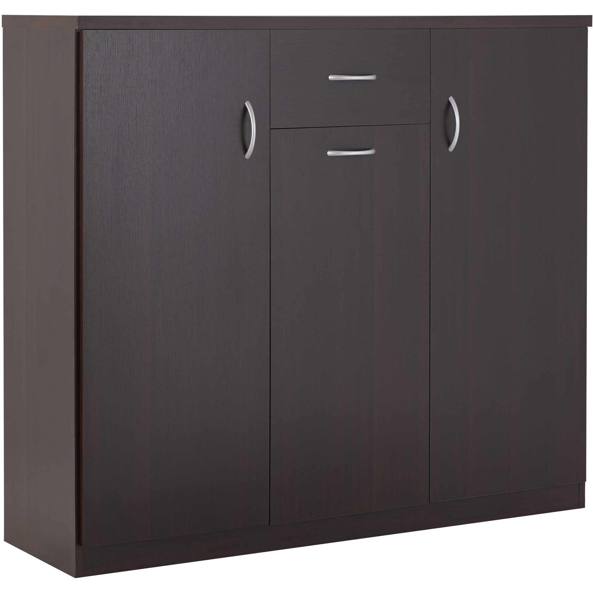 Wood 30Pair Shoe Storage CabinetReviewsAllModern