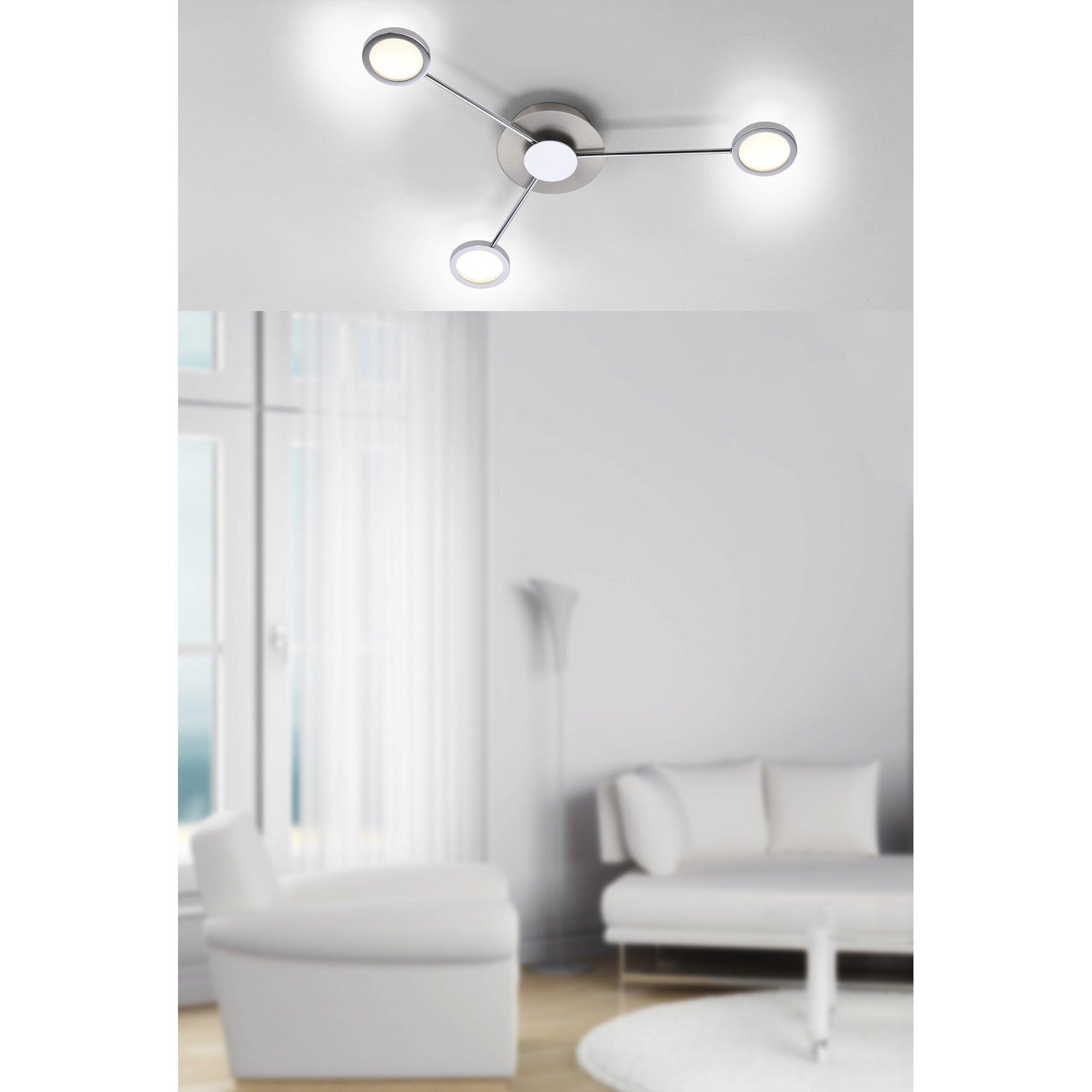 caracella deckenleuchte 3 flammig adela bewertungen. Black Bedroom Furniture Sets. Home Design Ideas
