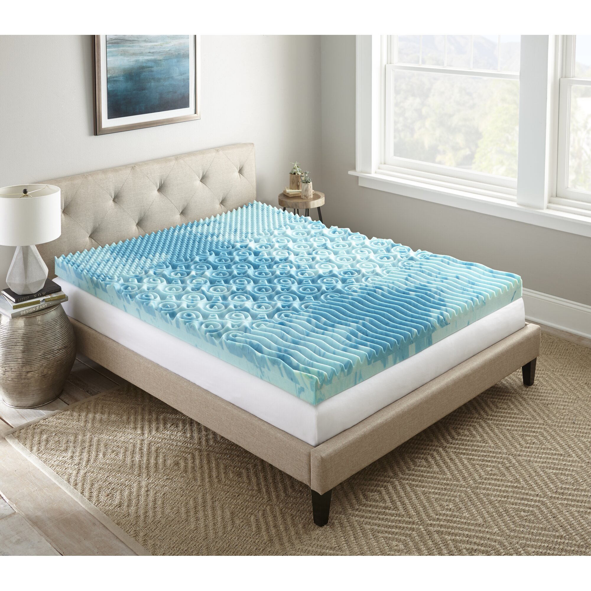 lane furniture sleep cool gellux 4 memory foam mattress