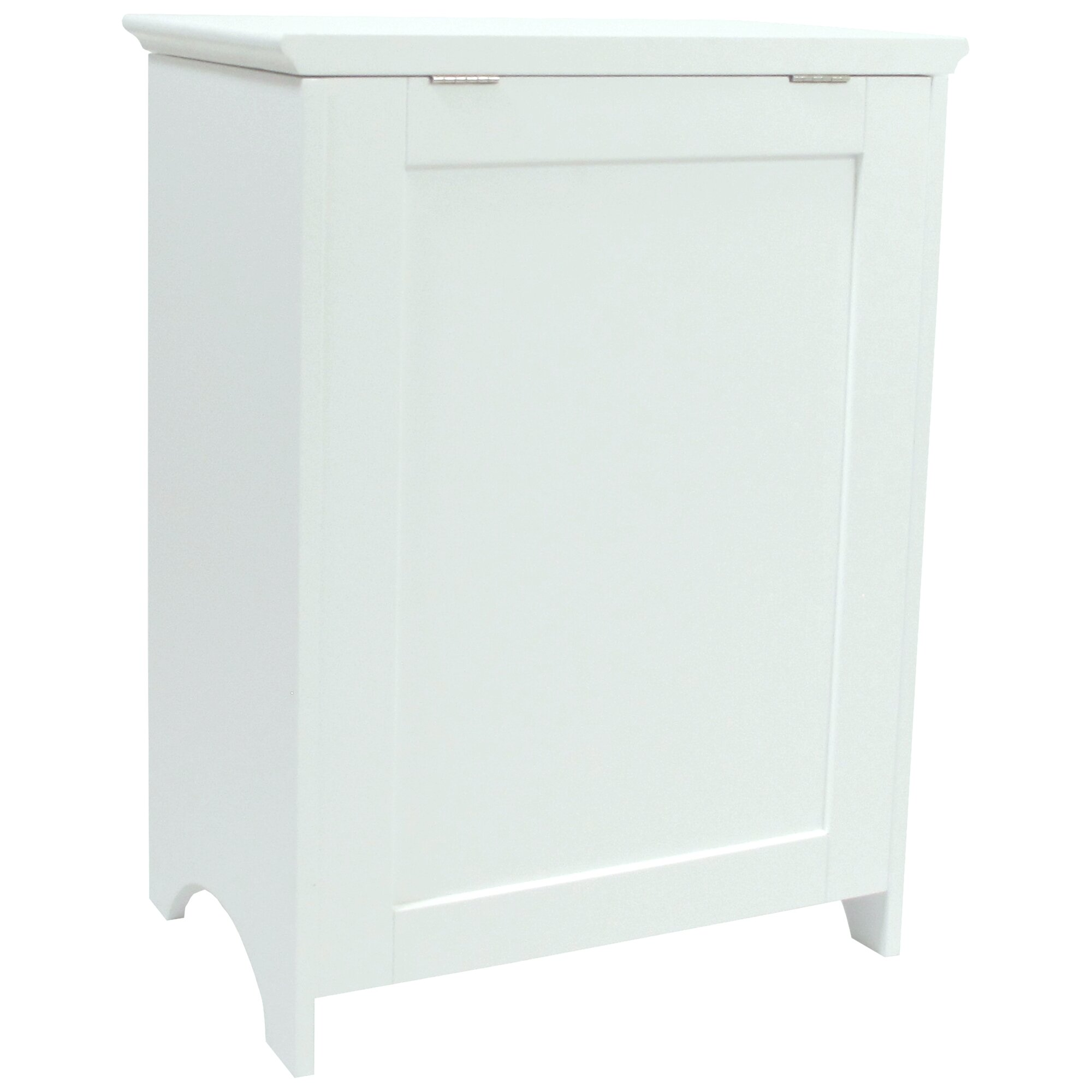 Beautiful Louvered Front Cabinet Laundry Hamper With Built In Laundry Hamper