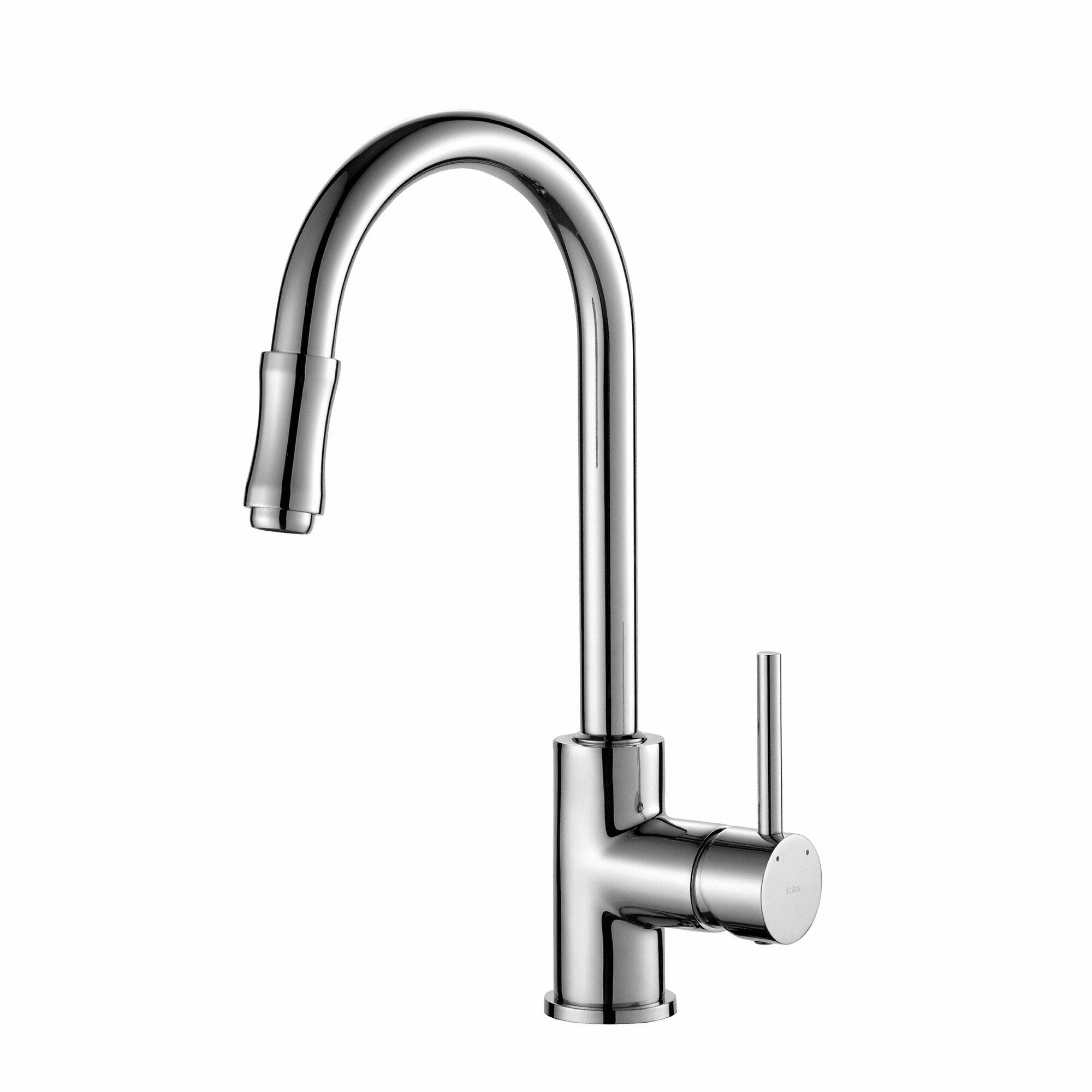 Premium Faucet Single Handle Pull Down Kitchen Faucet With
