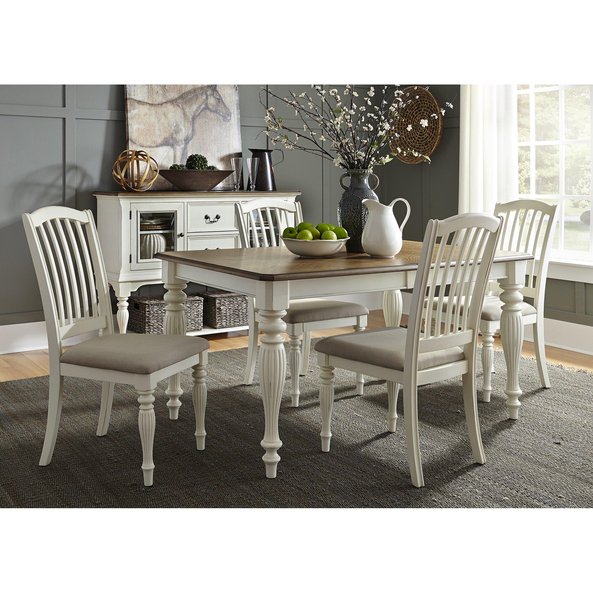 Cambrai extendable dining table reviews birch lane - Decor discount montelimar ...