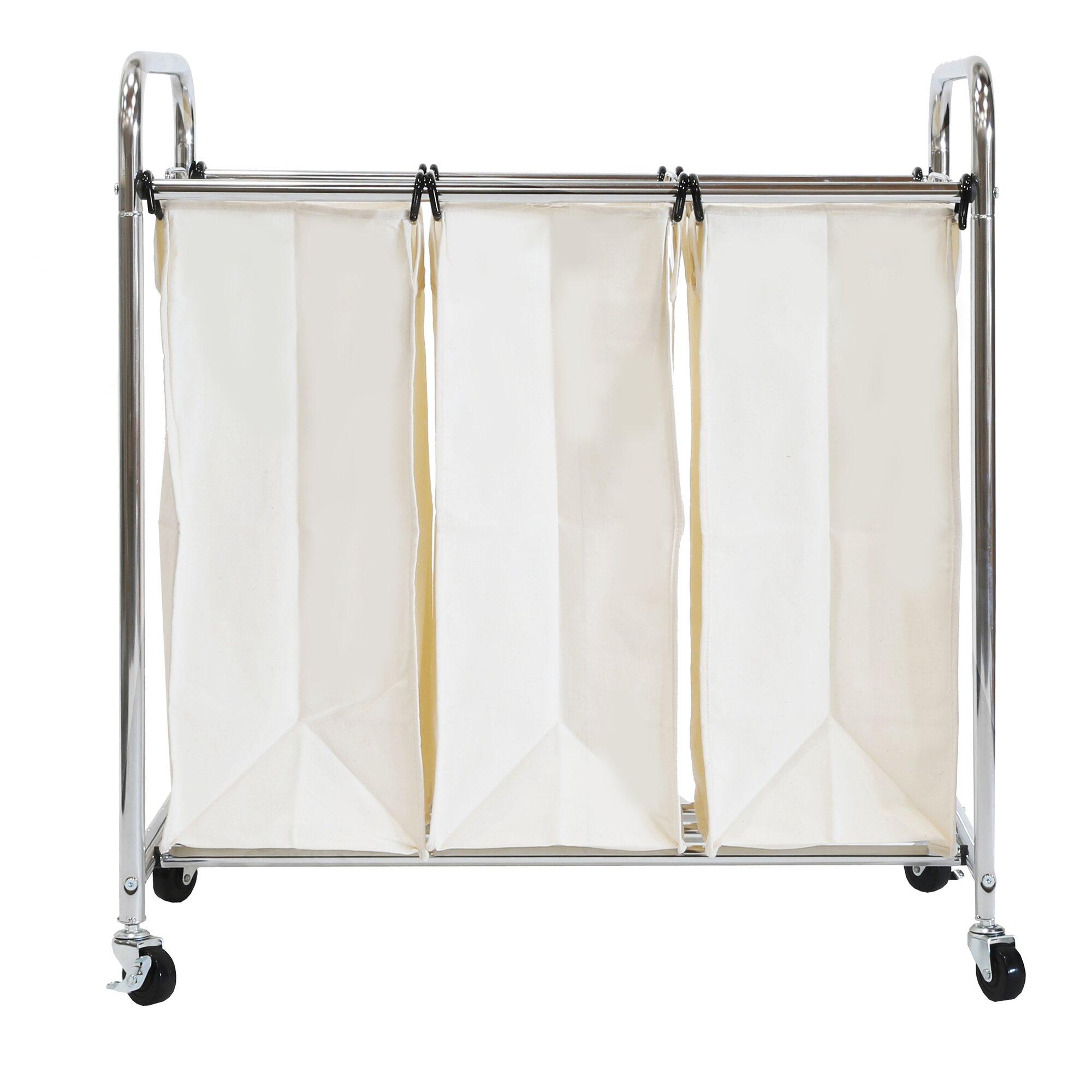 wayfair allmodern - wayfair basics bag laundry sorter reviews allmodern
