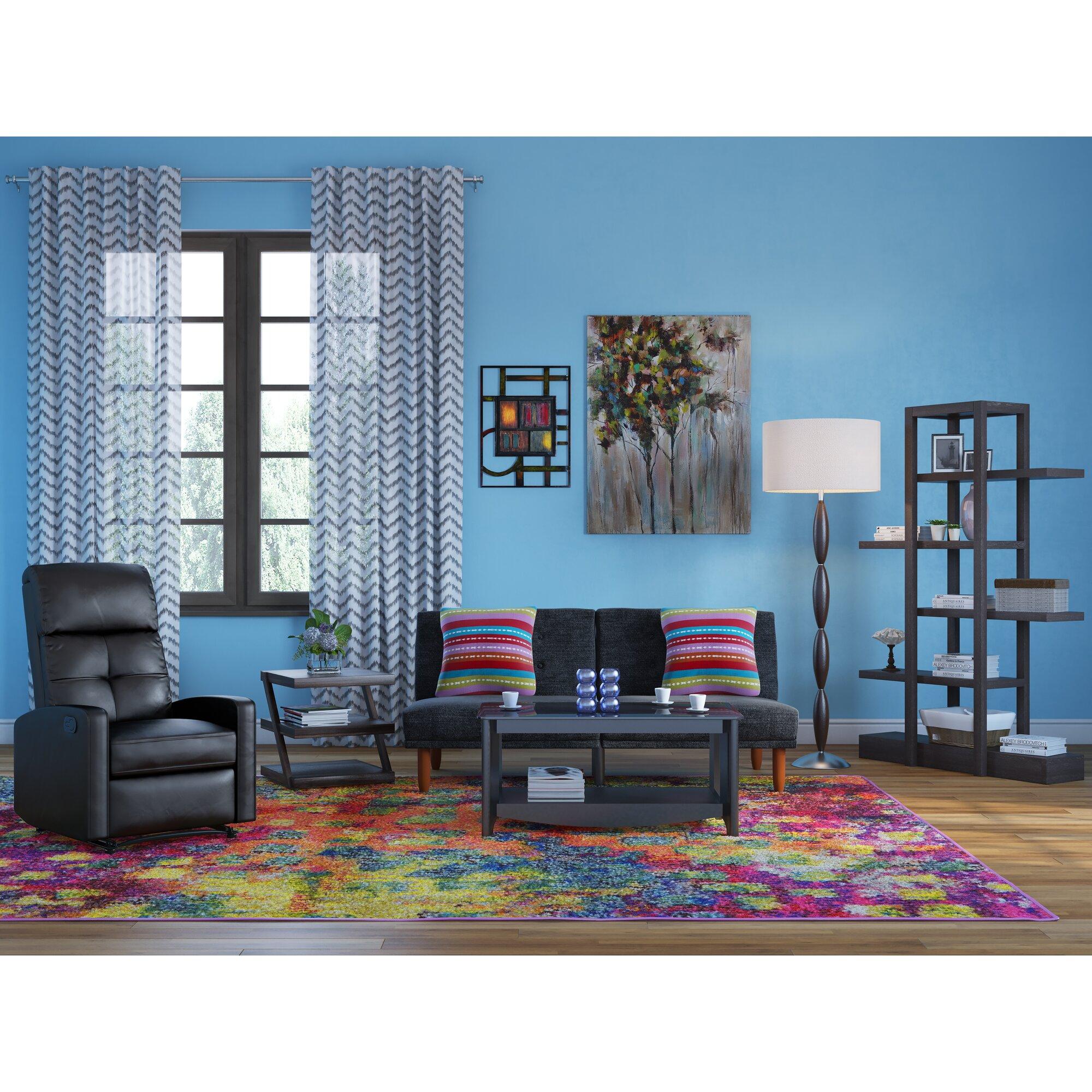 carthage 71 etagere bookcase reviews allmodern. Black Bedroom Furniture Sets. Home Design Ideas