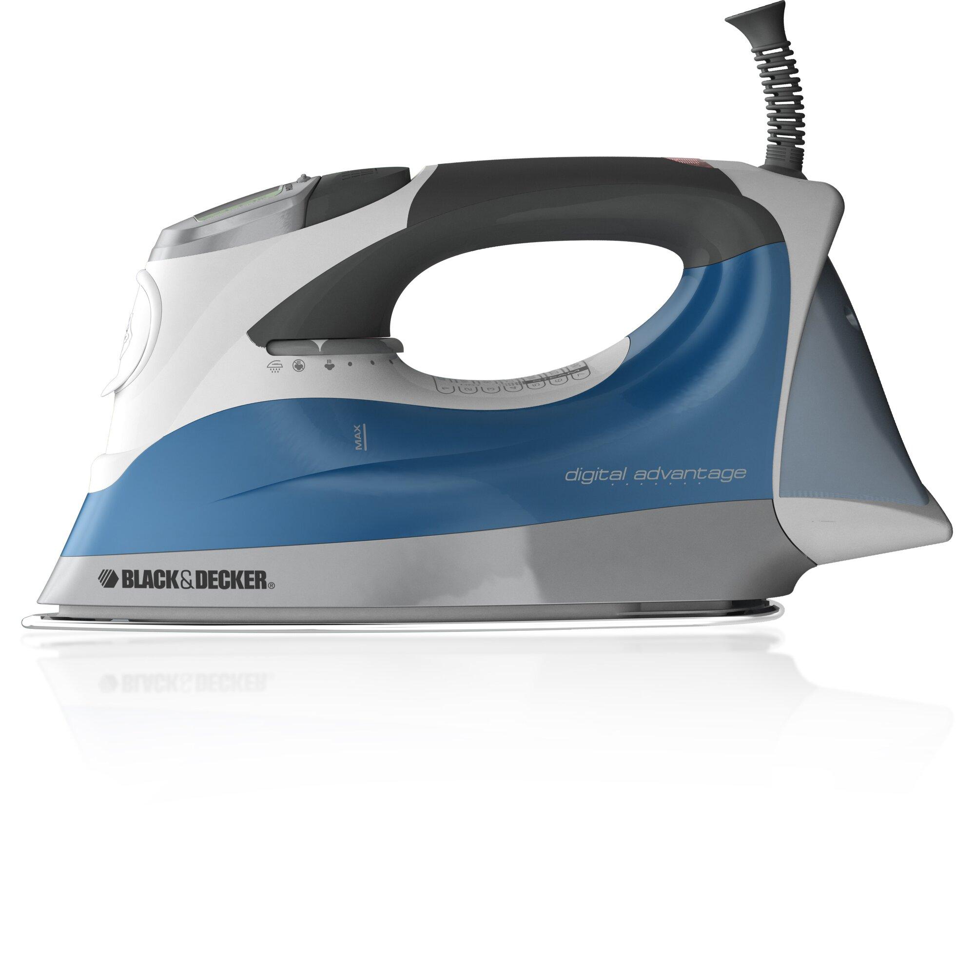 Digital Steam Irons ~ Black decker digital advantage™ professional steam iron