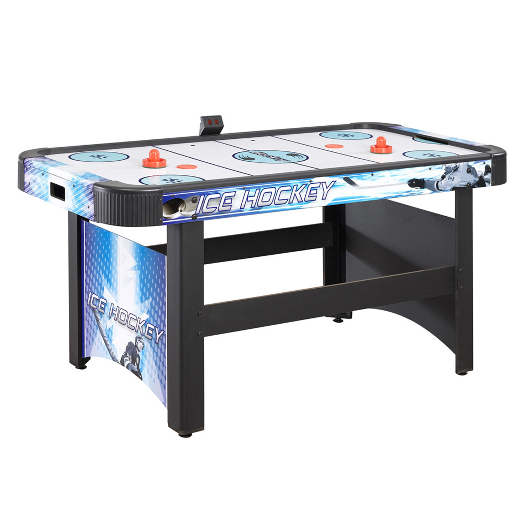 ... Outdoor Air Hockey Table Face Off 5 Air Hockey Table With Electronic  Scoring ...