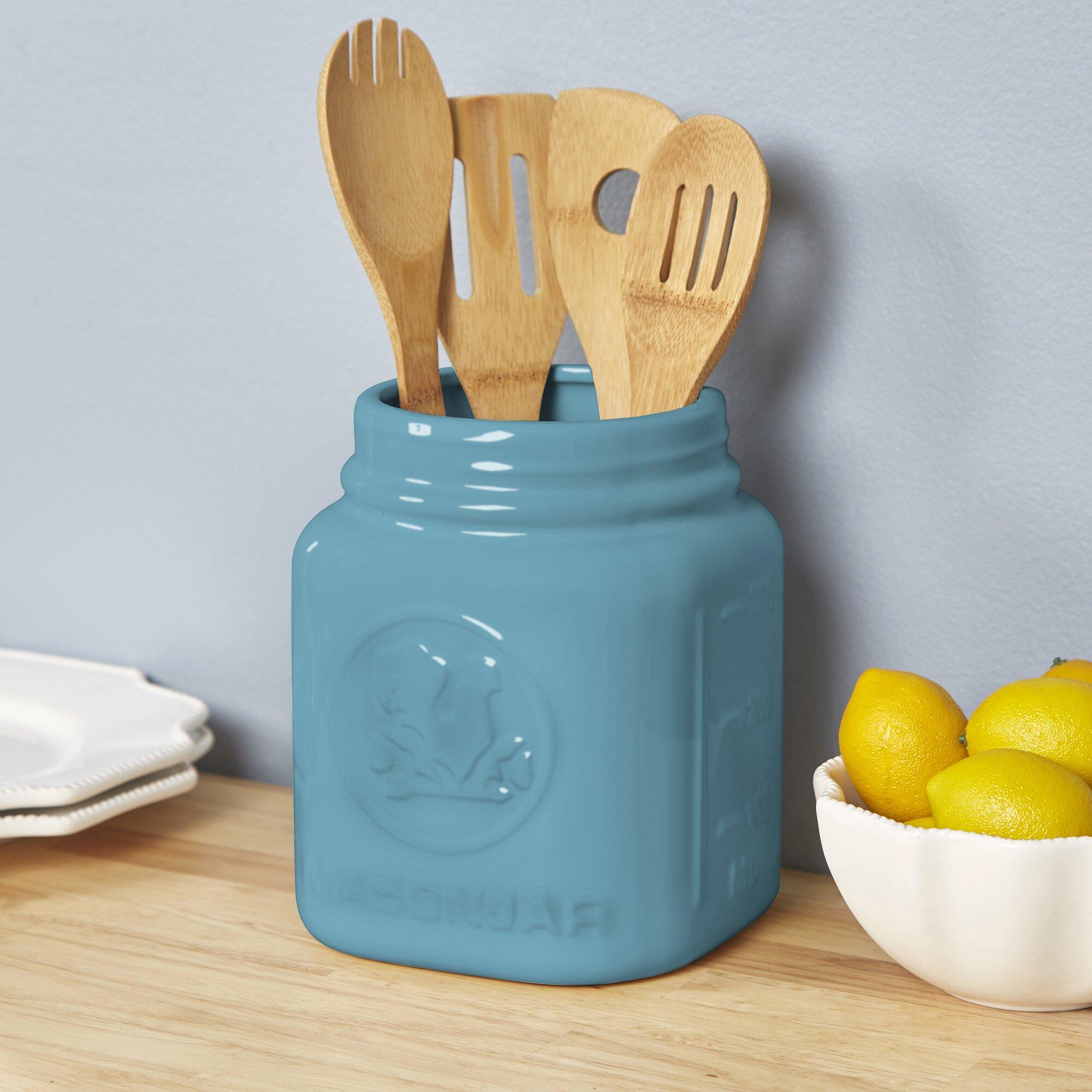 utensil holders - utensil crocks holders you'll love wayfair